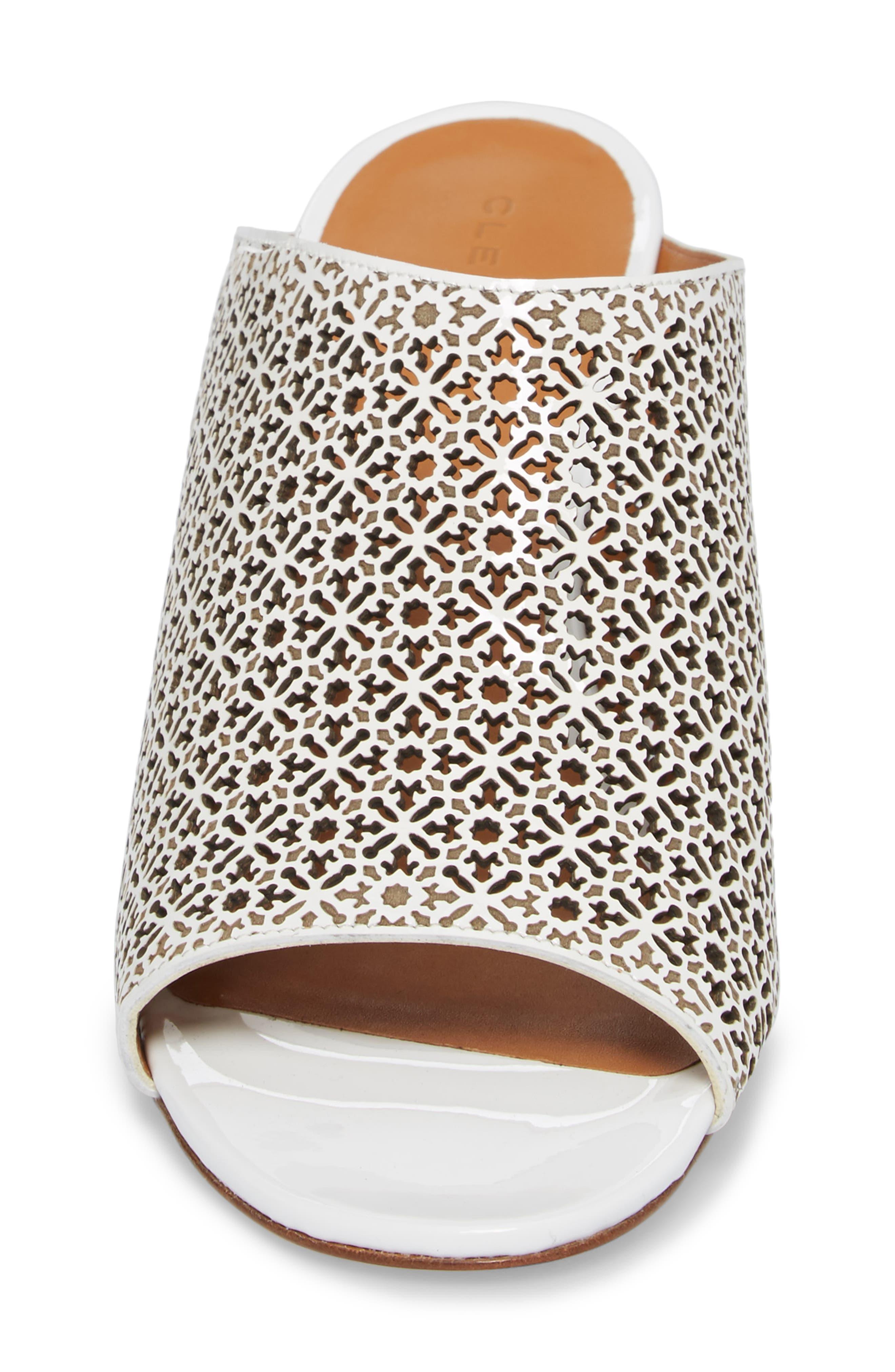 Cara Perforated Sandal,                             Alternate thumbnail 4, color,                             109