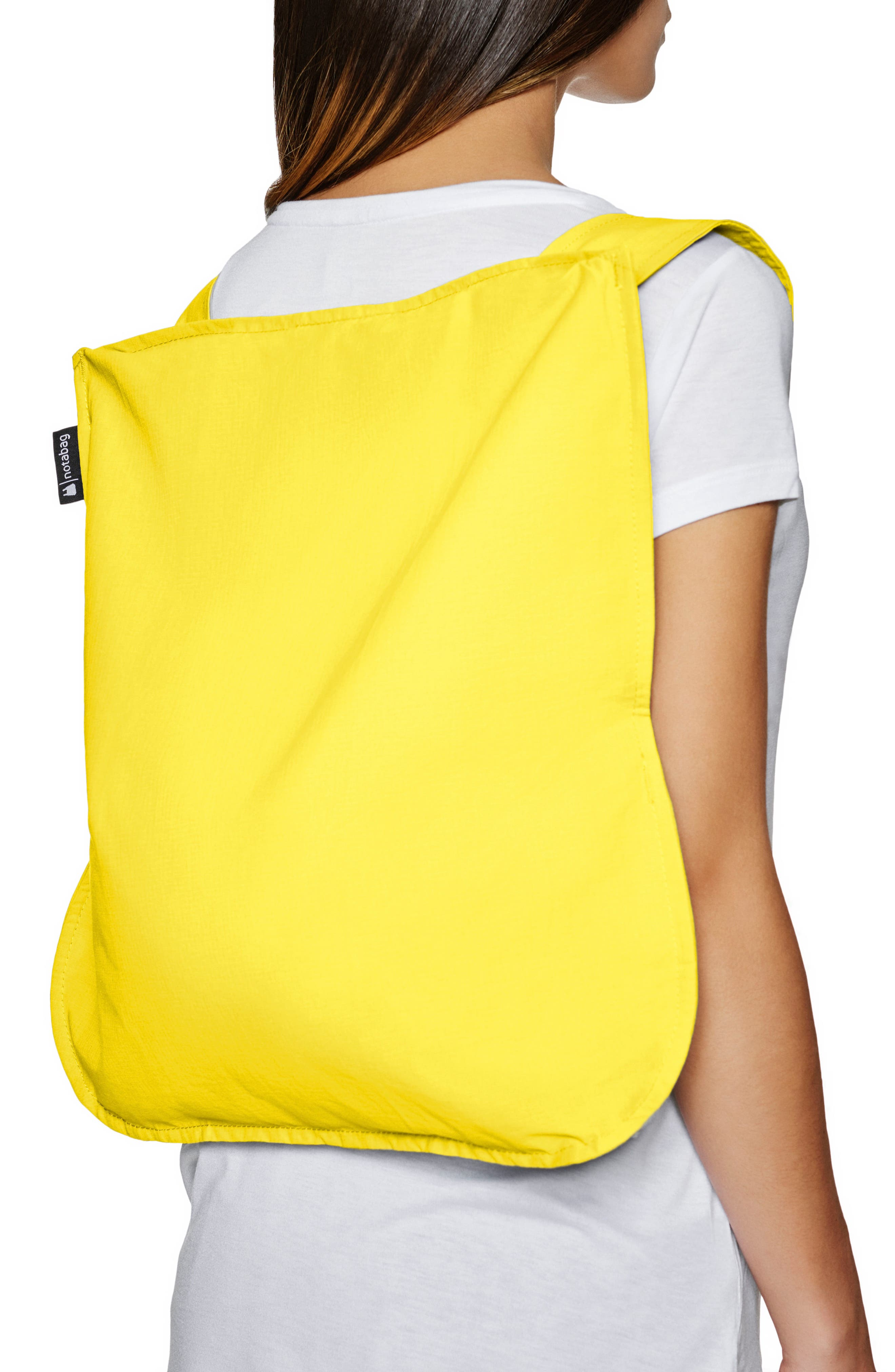 Convertible Tote Backpack,                             Alternate thumbnail 2, color,                             YELLOW