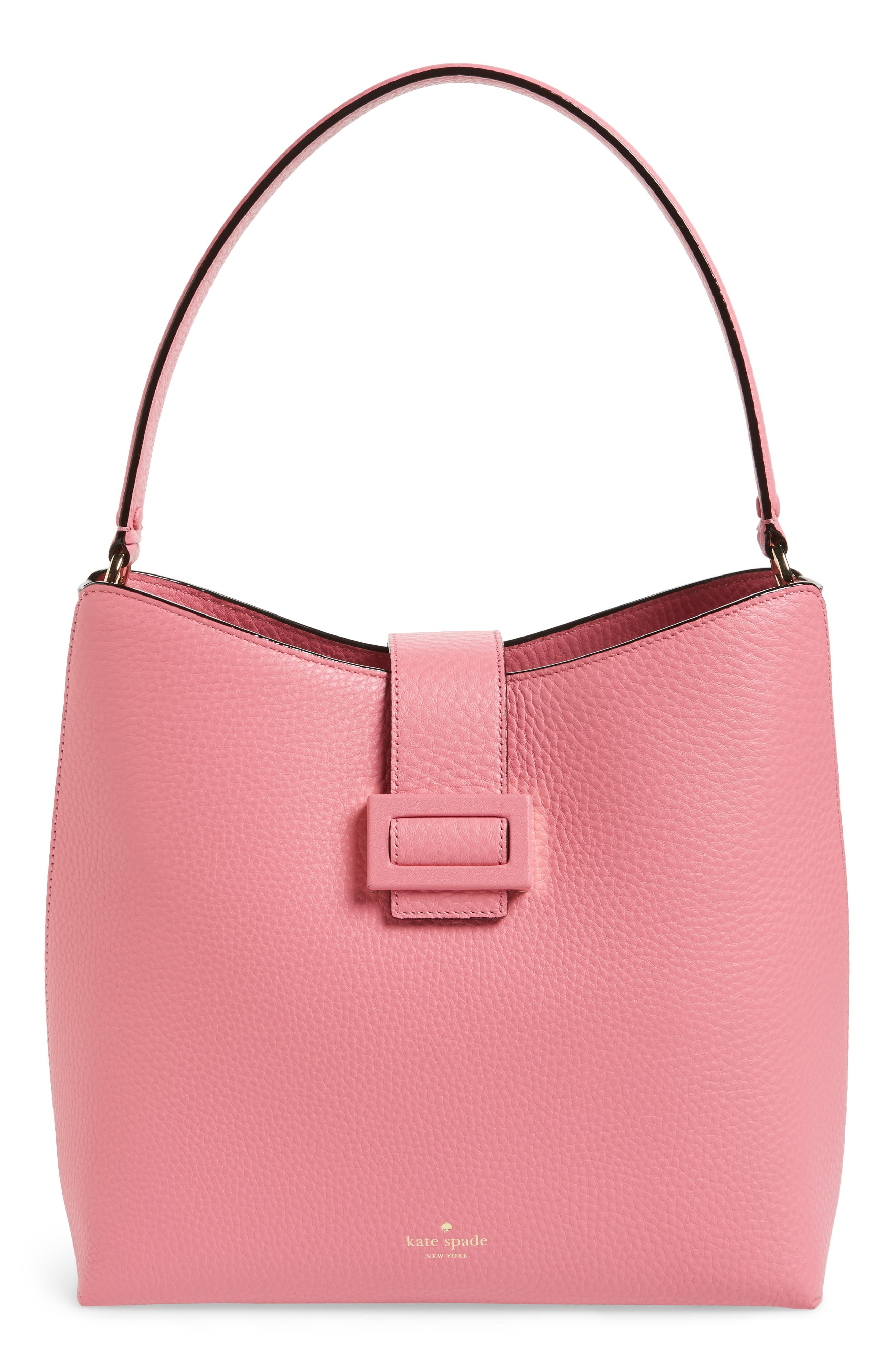 carlyle street – marea leather hobo,                             Main thumbnail 4, color,