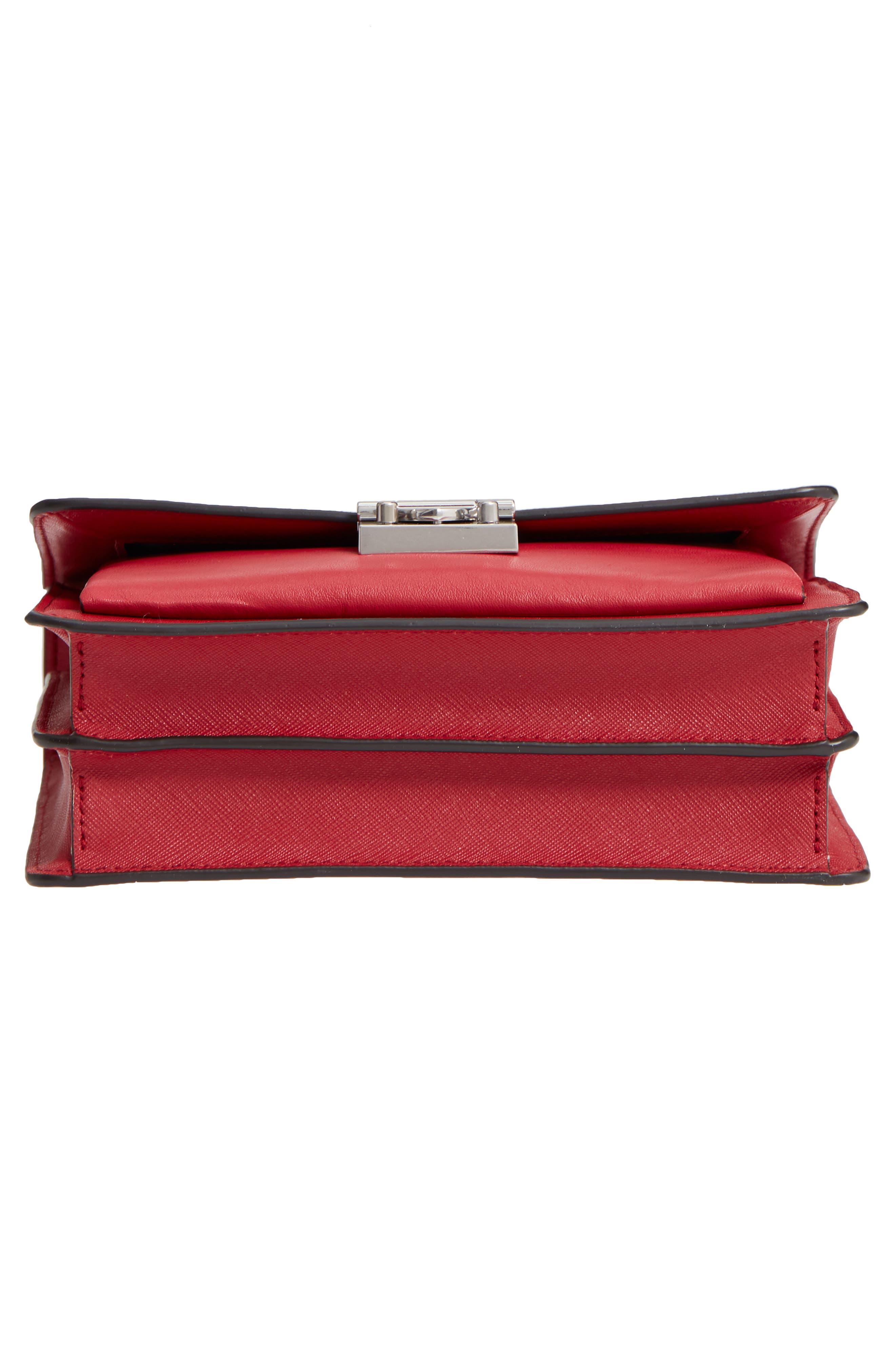 Medium Christy Leather Shoulder Bag,                             Alternate thumbnail 29, color,