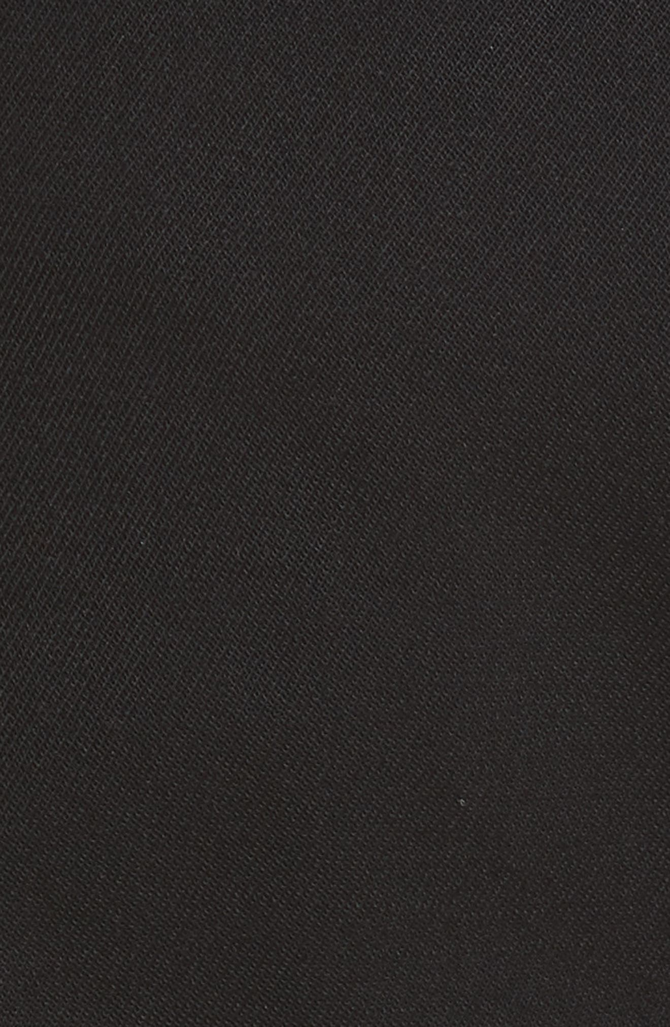 Side Zip Detail Suiting Pants,                             Alternate thumbnail 5, color,                             001