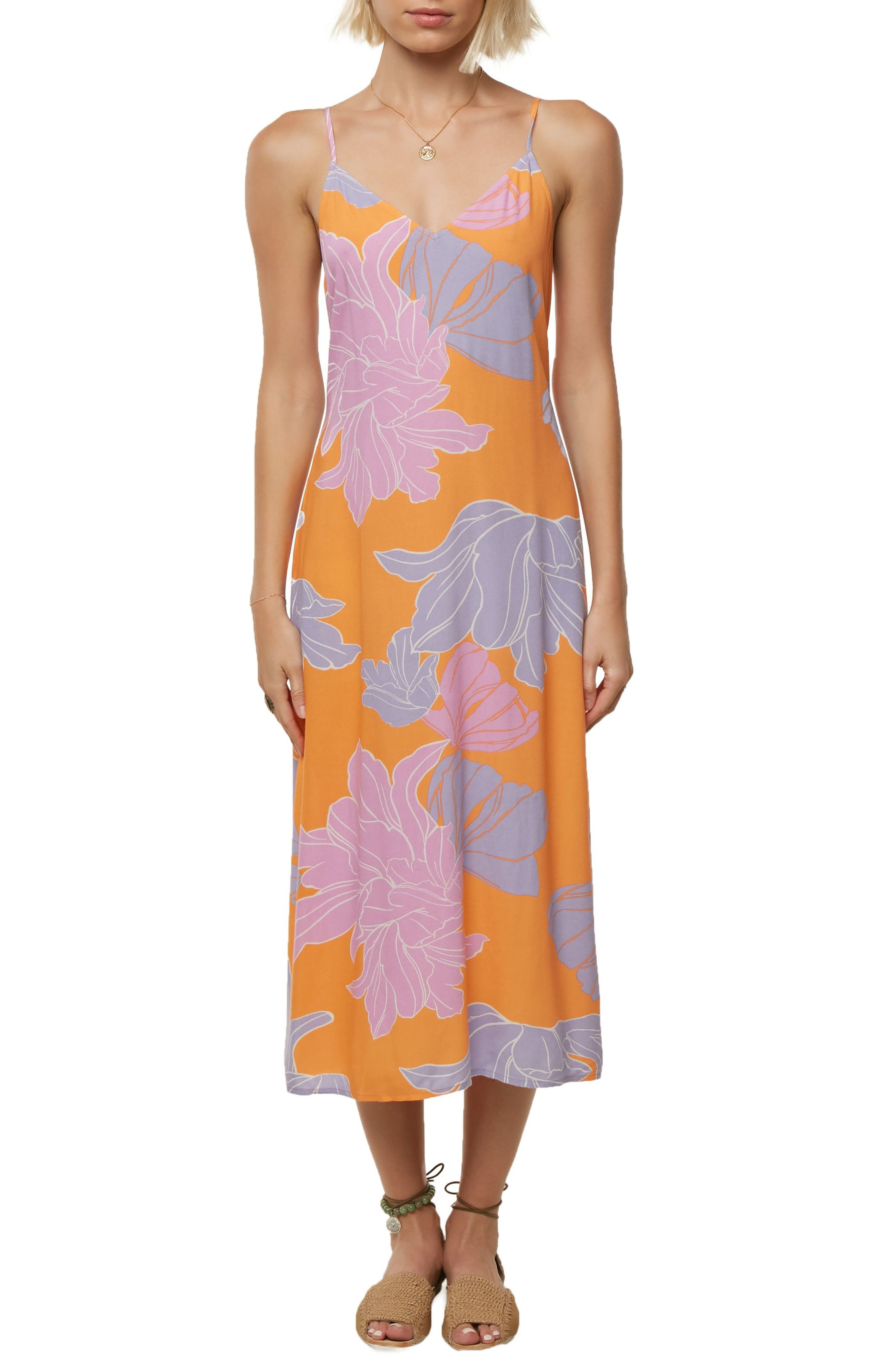 Santa Rosa Cover-Up Midi Dress,                         Main,                         color, 810