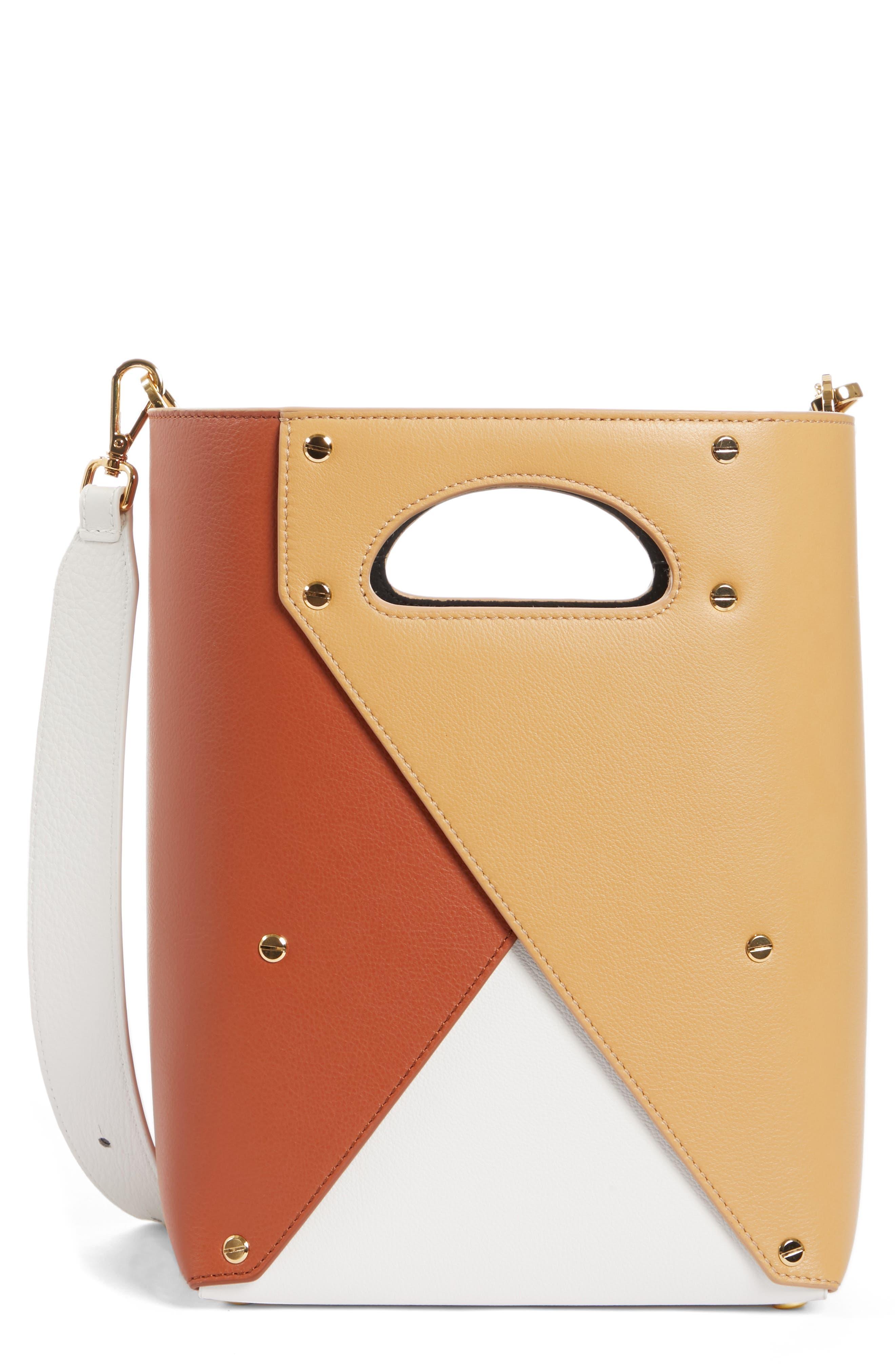 Pablo Bucket Bag, Main, color, SAVANNA/ RUST