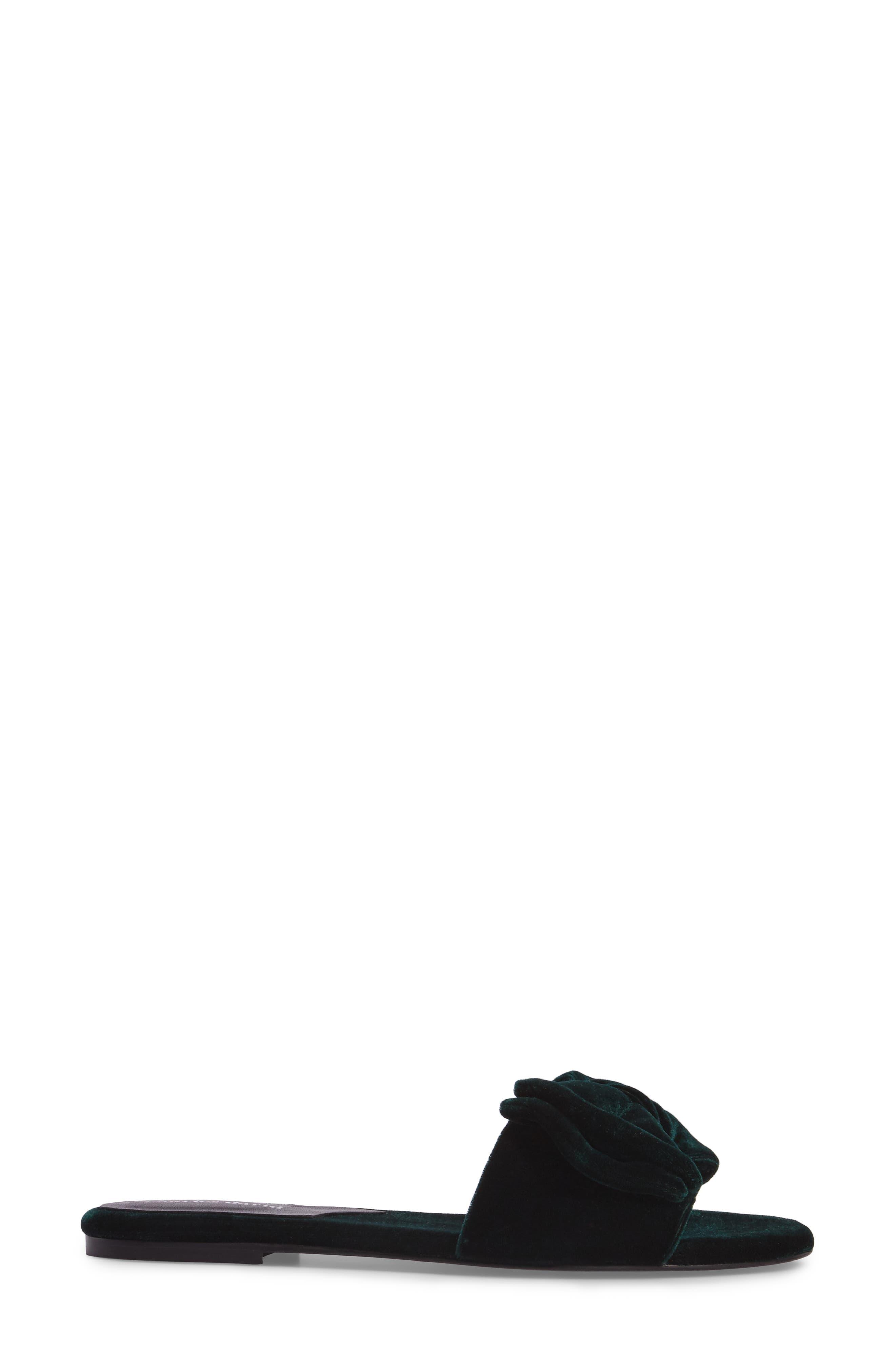 Bow Slide Sandal,                             Alternate thumbnail 6, color,