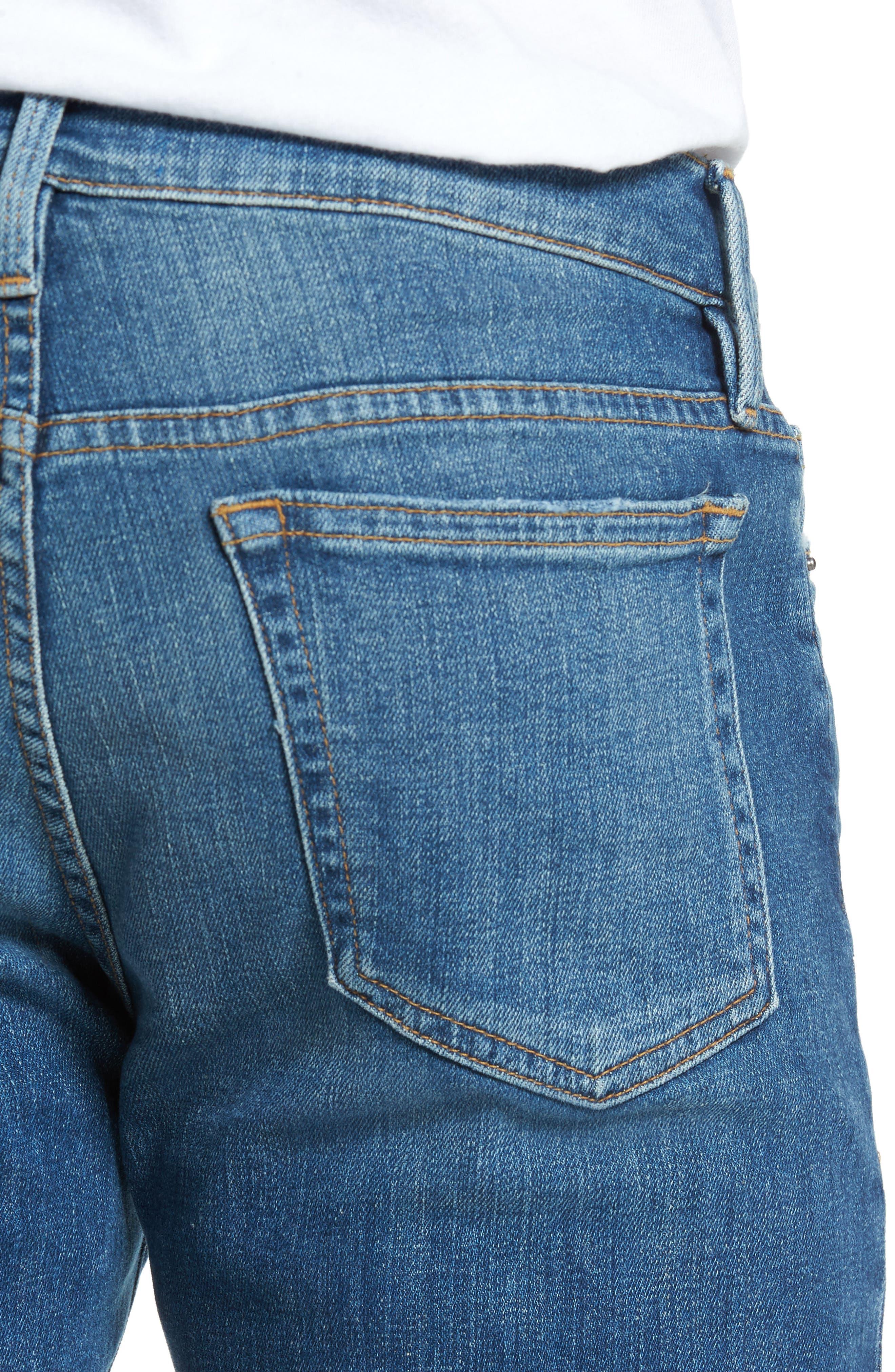L'Homme Slim Fit Jeans,                             Alternate thumbnail 4, color,                             407