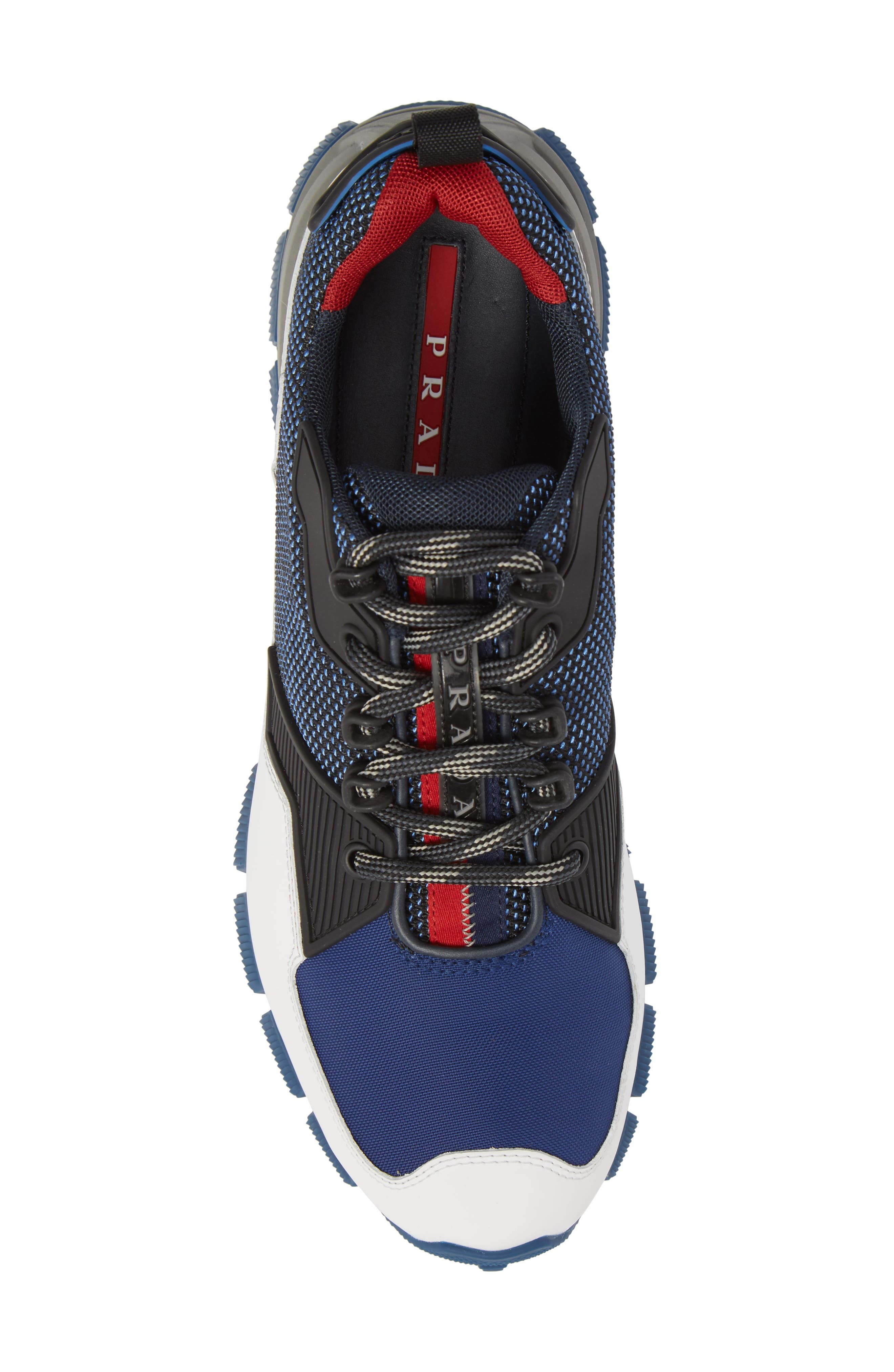 Linea Rossa Tech Lug Sneaker,                             Alternate thumbnail 5, color,                             400