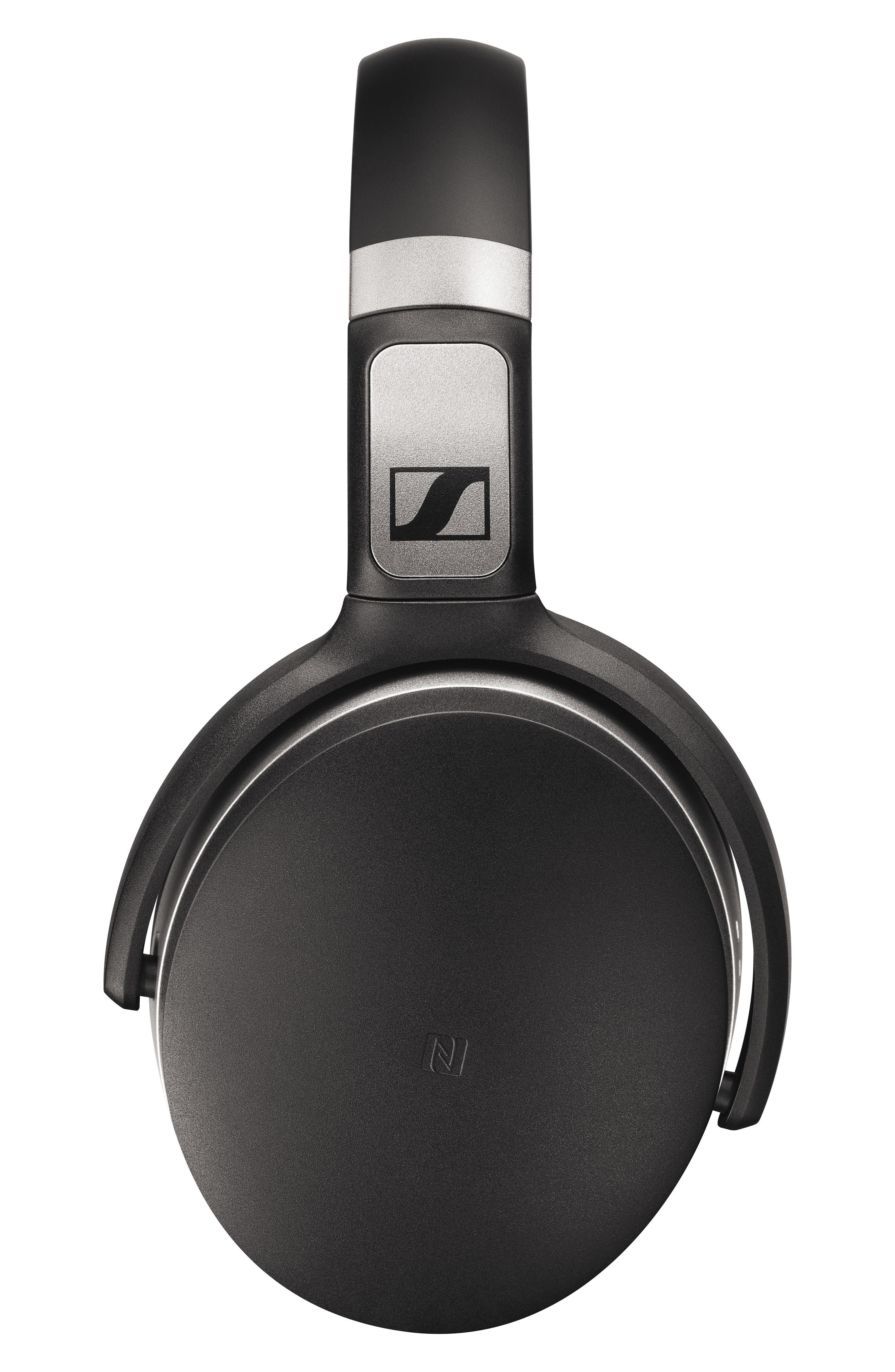 HD 4.50 Bluetooth<sup>®</sup> Noise Cancelling Headphones,                             Alternate thumbnail 2, color,                             BLACK/ SILVER