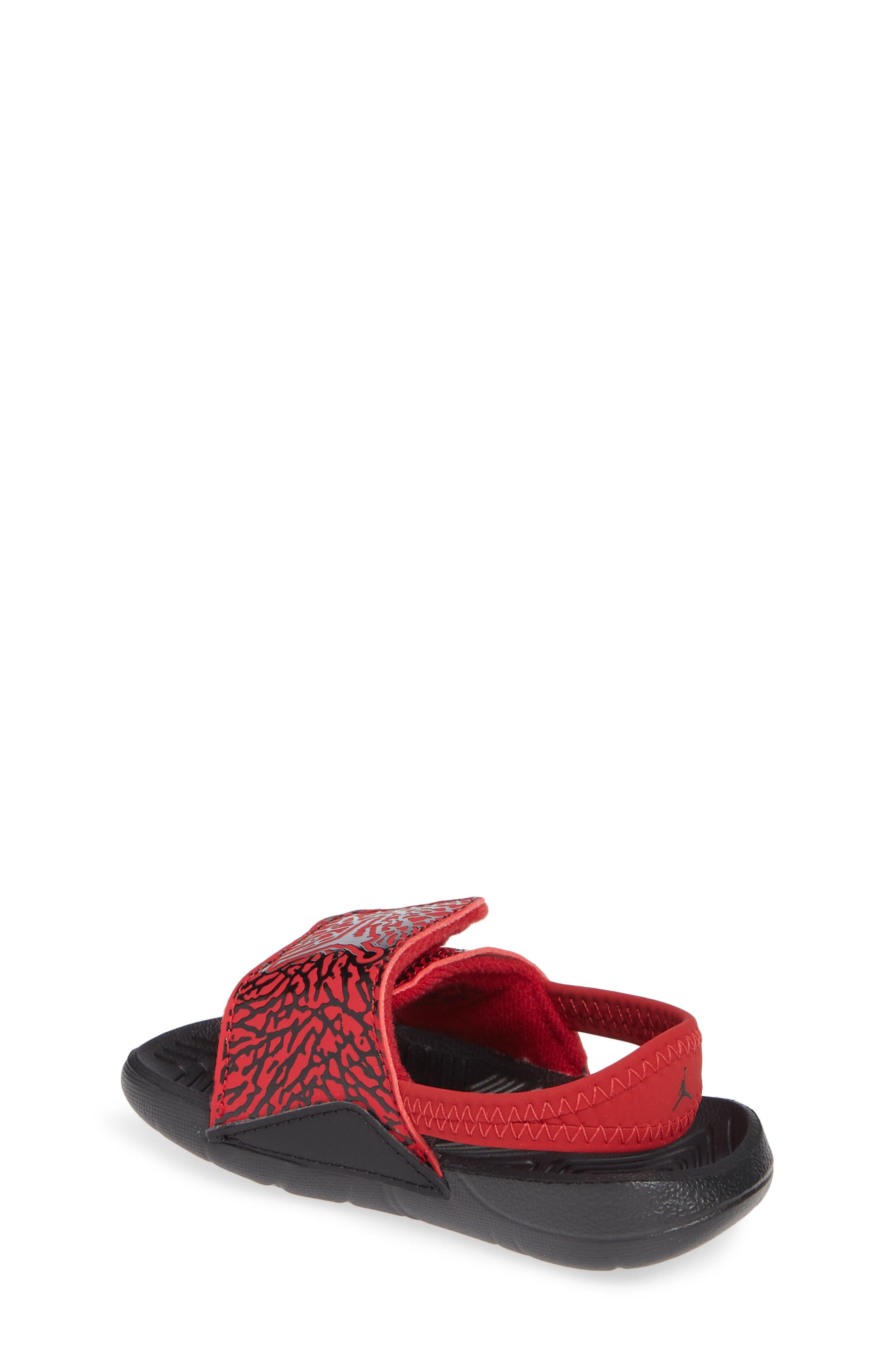 Hydro 7 V2 Sandal,                             Alternate thumbnail 2, color,                             GYM RED/ BLACK 2