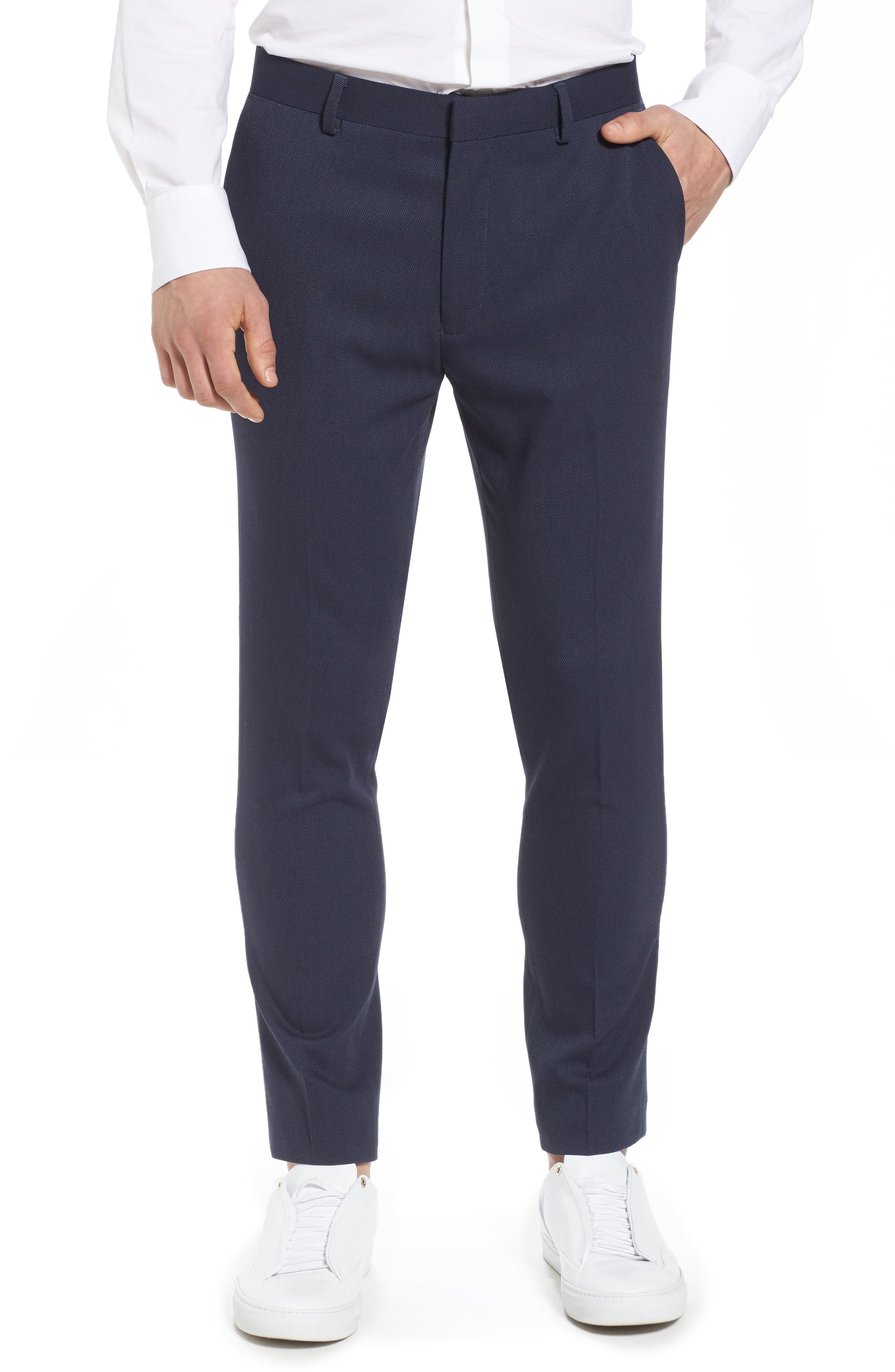 Skinny Fit Como Trousers,                         Main,                         color, 420