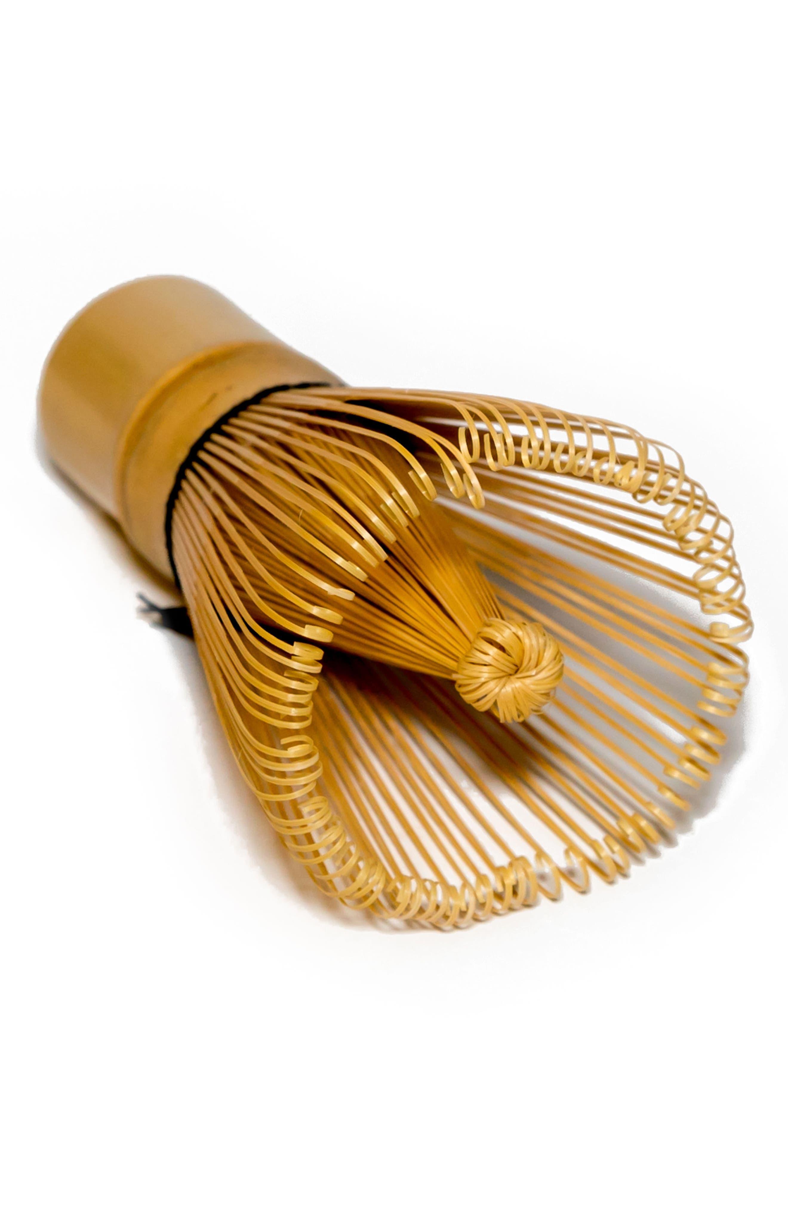 100 Prong Bamboo Matcha Whisk,                             Alternate thumbnail 2, color,                             NO COLOR