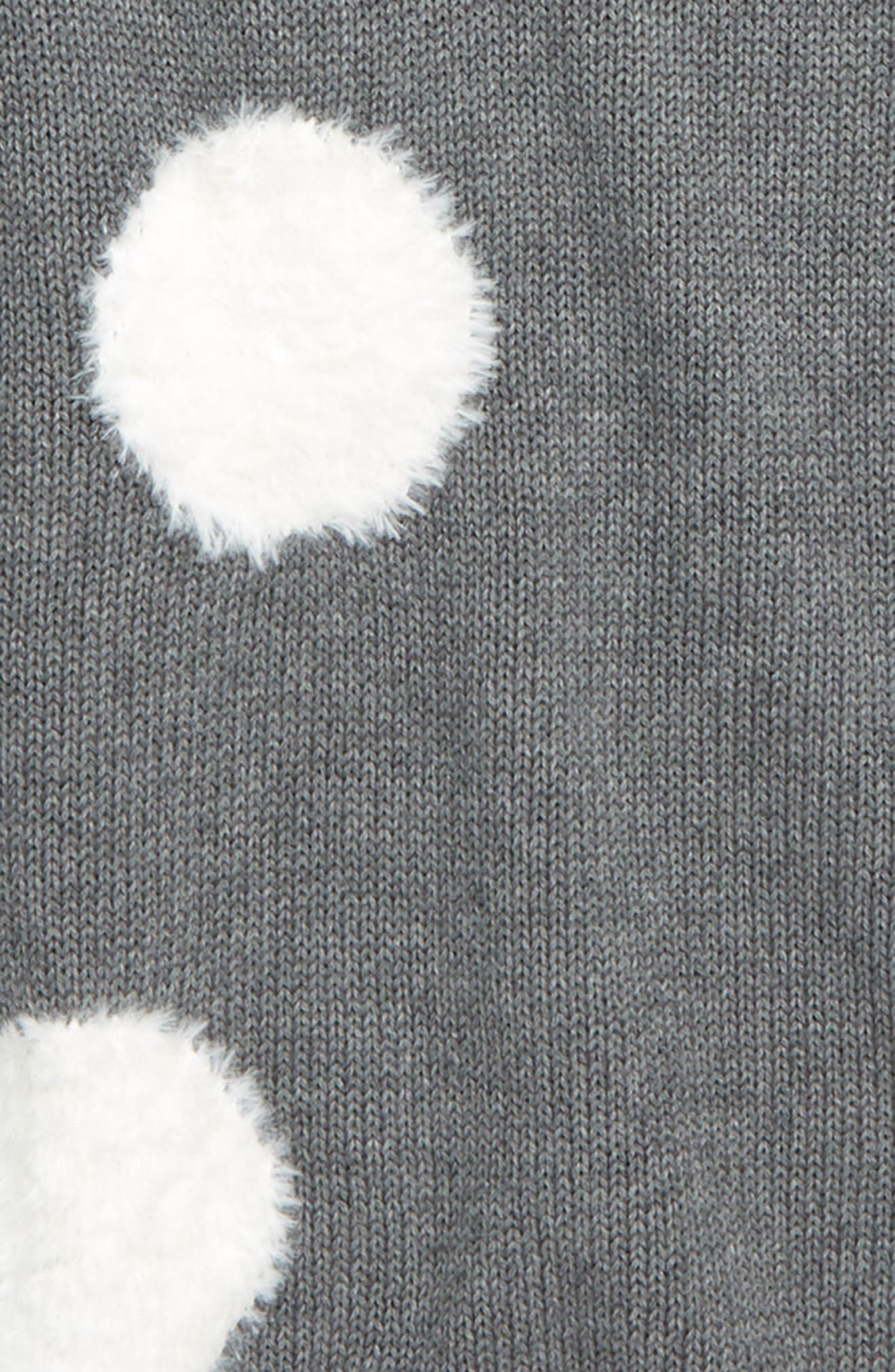 TUCKER + TATE,                             Fuzzy Dot Sweater Tunic,                             Alternate thumbnail 2, color,                             030