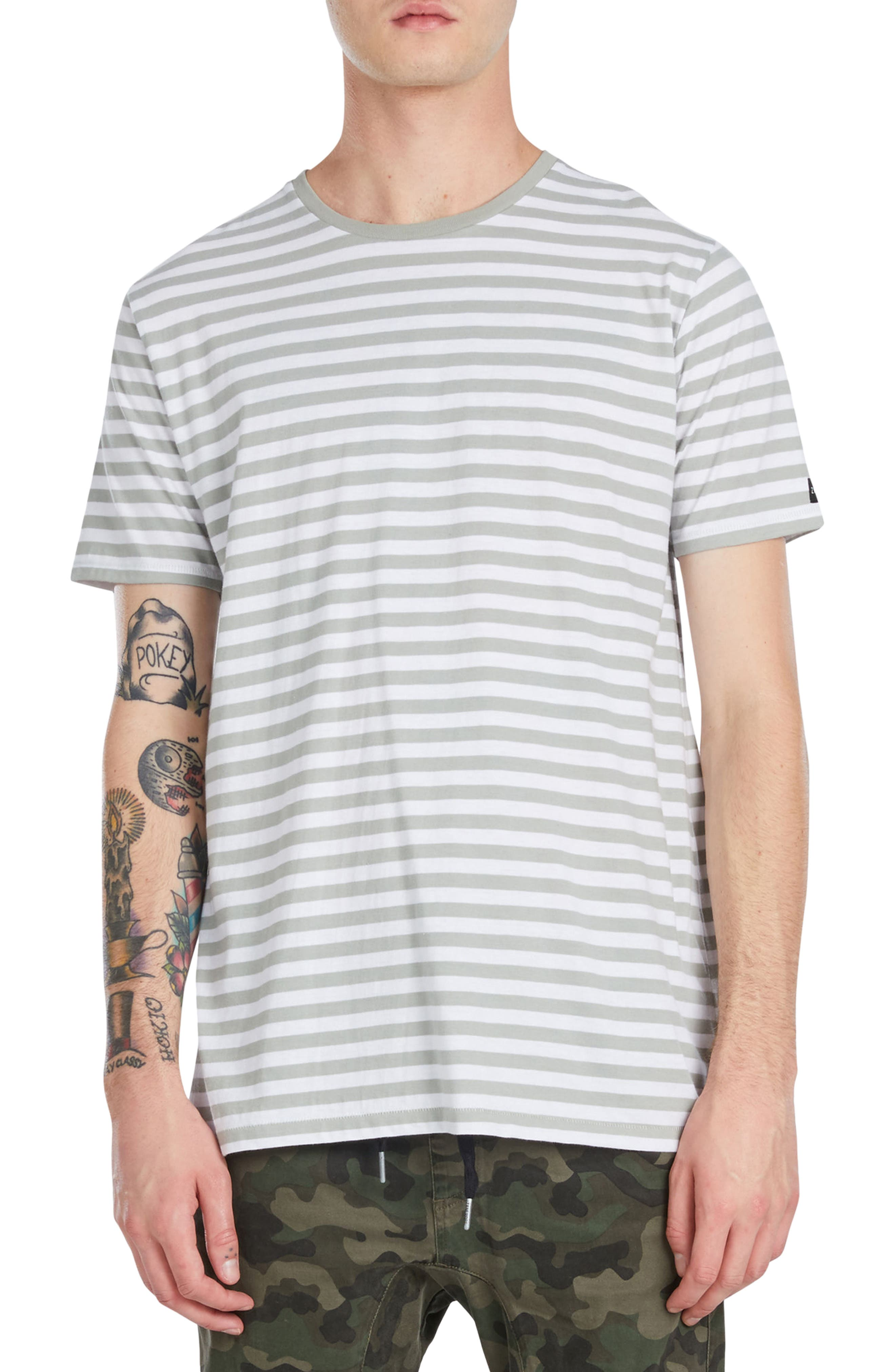 Flintlock Longline T-Shirt,                             Main thumbnail 1, color,                             340