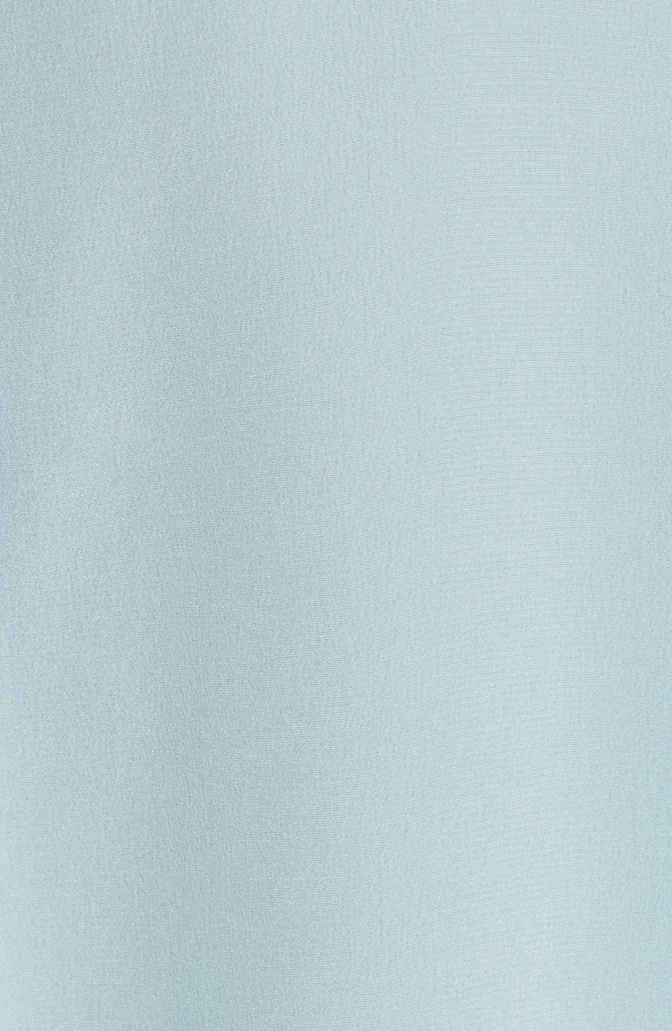 'Slim Signature' Sleeveless Silk Shirt,                             Alternate thumbnail 198, color,