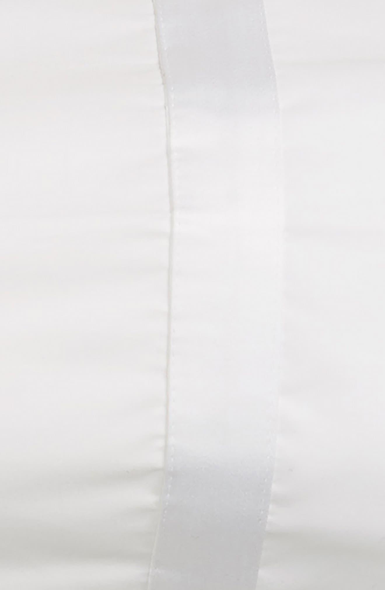 Lowell 600 Thread Count Neckroll Sham,                             Alternate thumbnail 2, color,                             WHITE