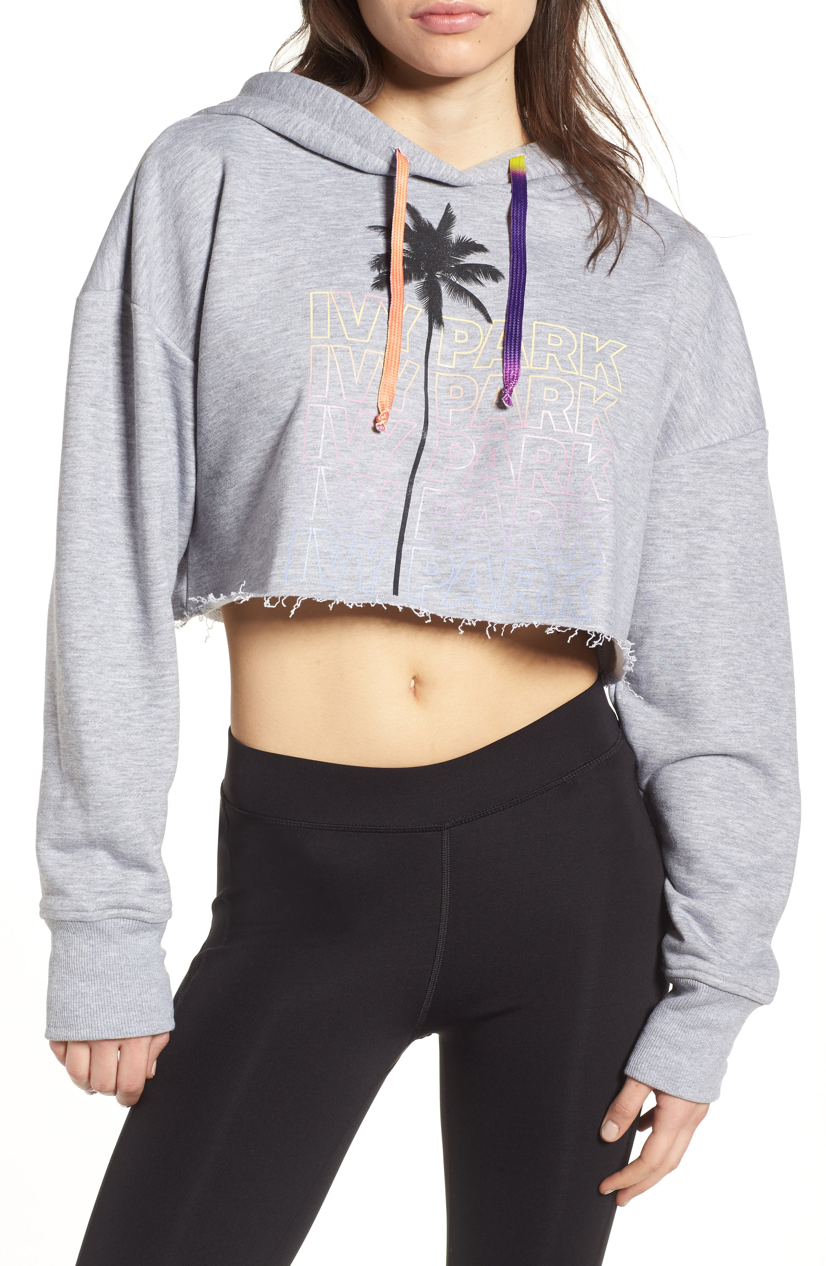 Festival Crop Hoodie,                             Main thumbnail 1, color,                             050