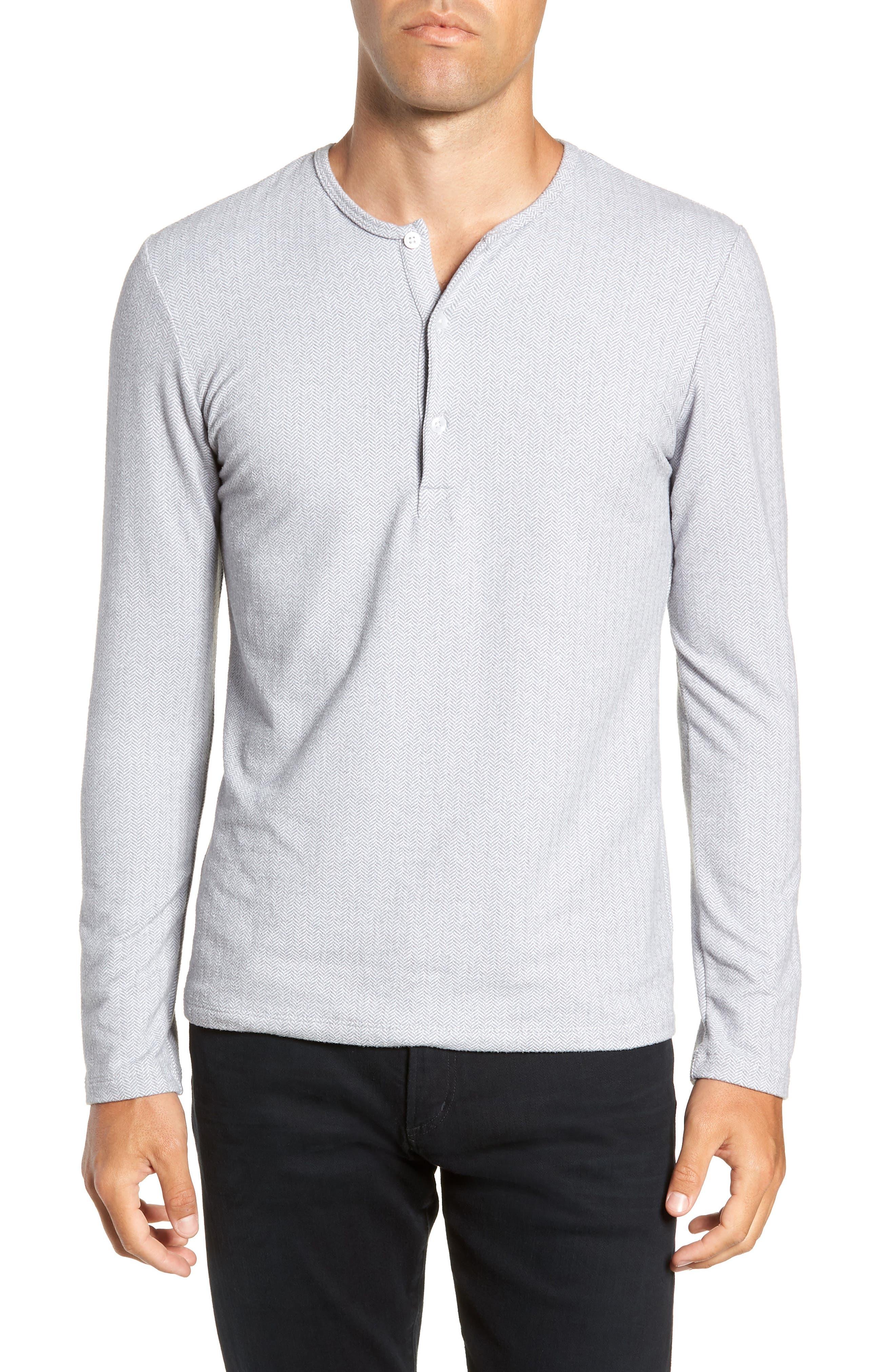 MIZZEN+MAIN Anchorage Regular Fit Henley T-Shirt, Main, color, 031