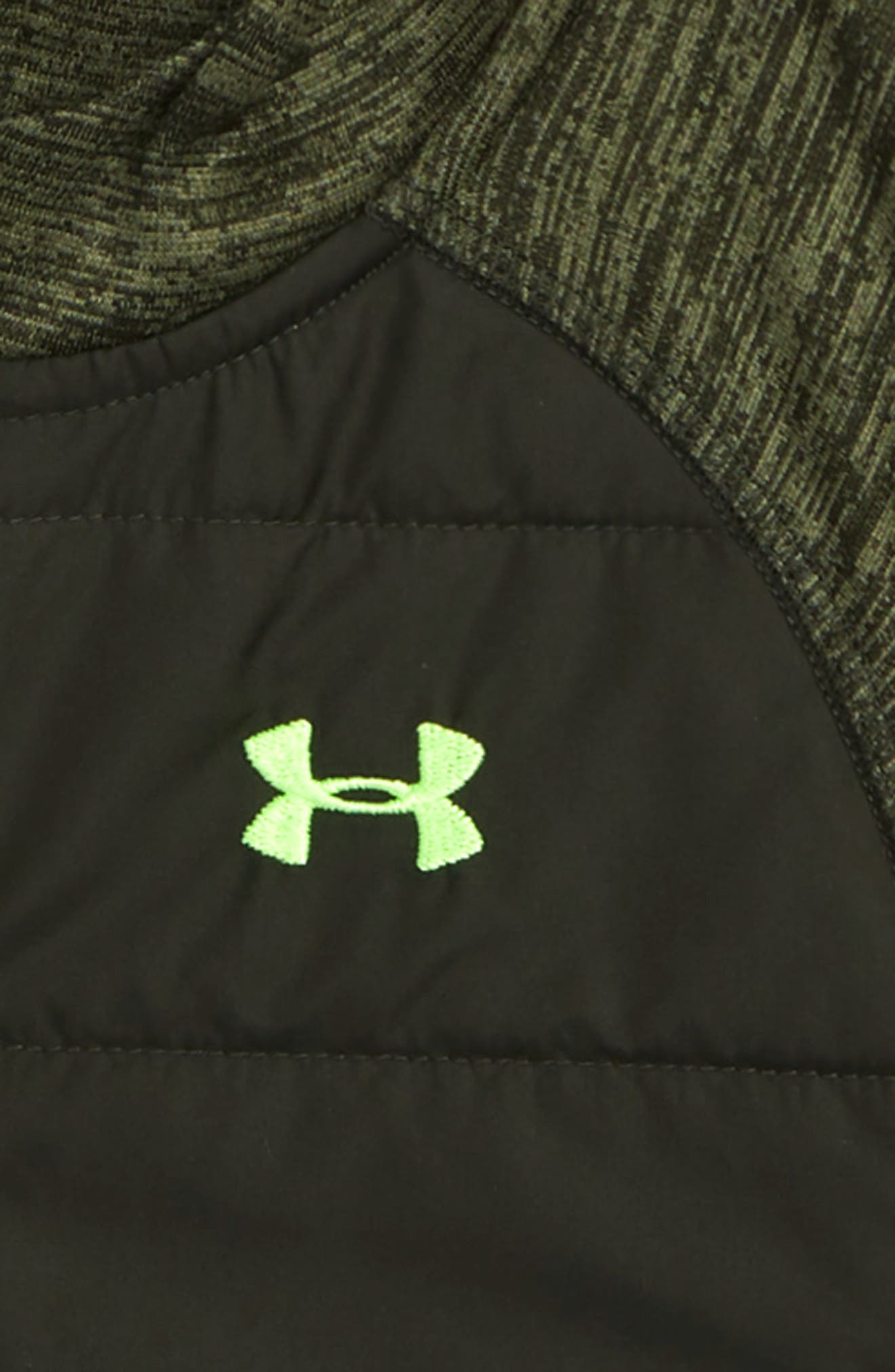 Day Trekker Water Resistant ColdGear<sup>®</sup> Puffer Jacket,                             Alternate thumbnail 2, color,                             ARTILLERY GREEN