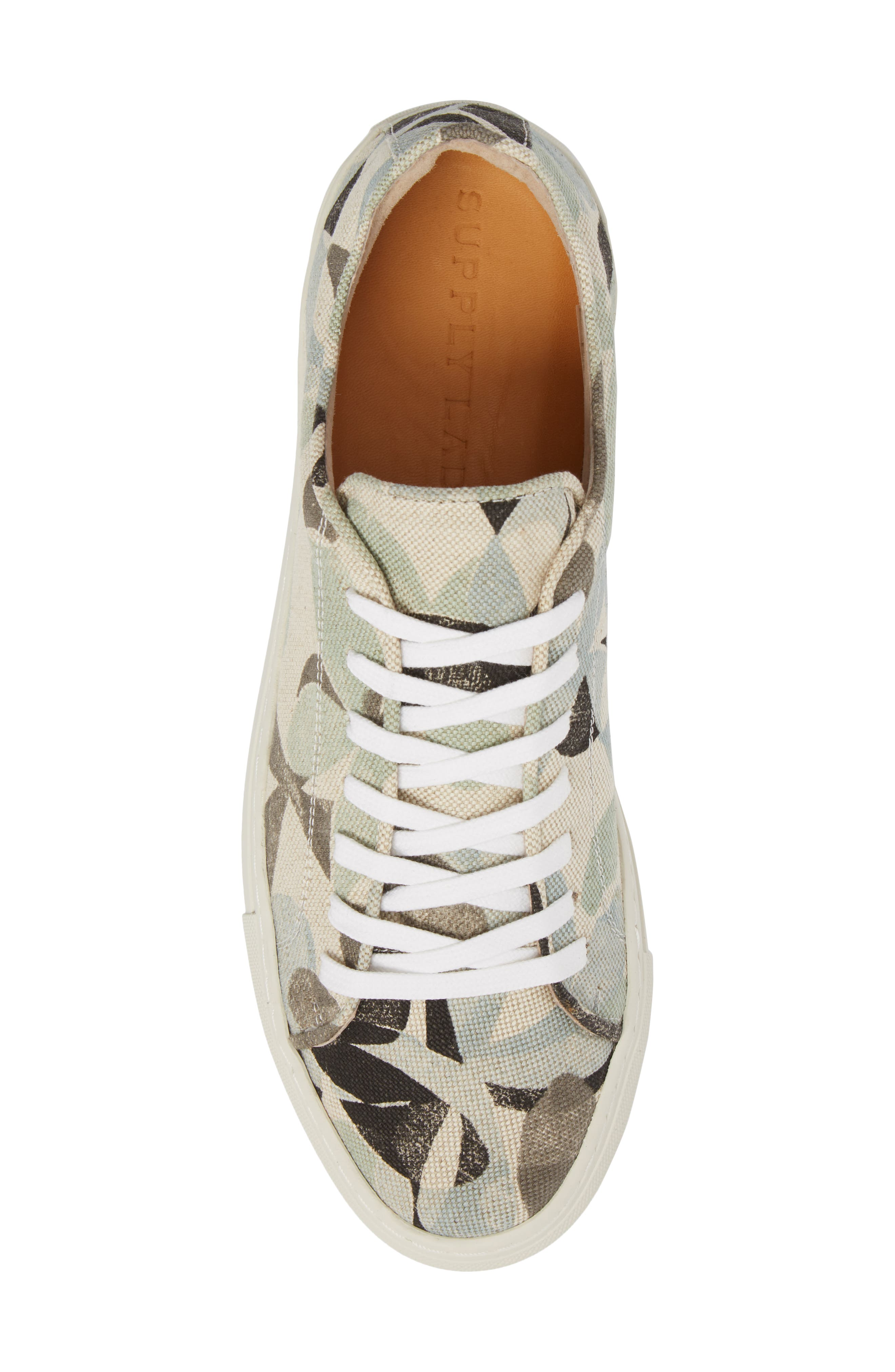Mason Print Low Top Sneaker,                             Alternate thumbnail 19, color,