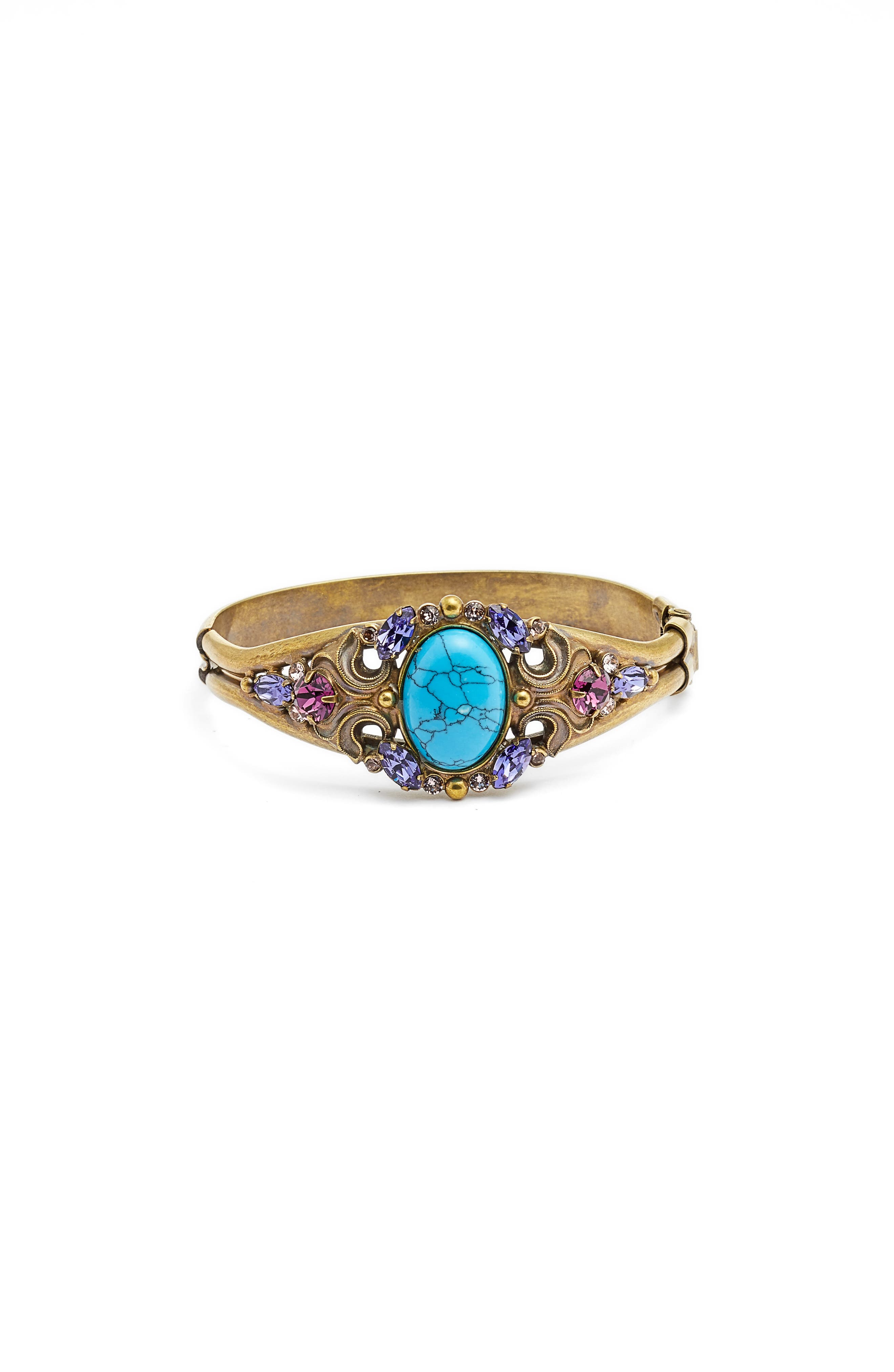 Flora Filigree Bracelet,                             Main thumbnail 1, color,