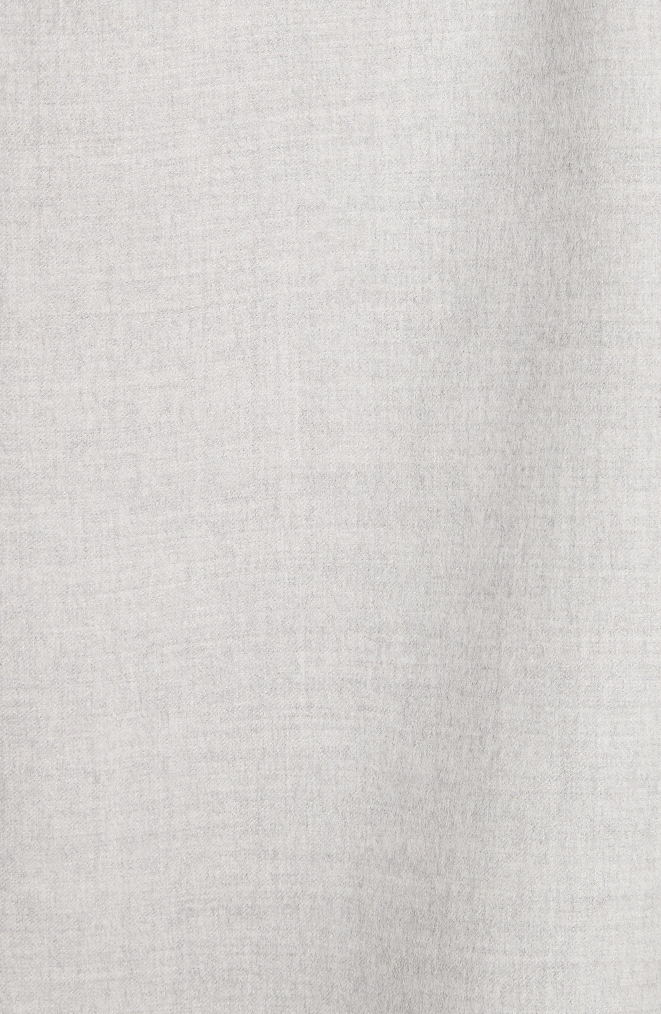 Double Face Silk & Wool Jacket,                             Alternate thumbnail 6, color,                             050