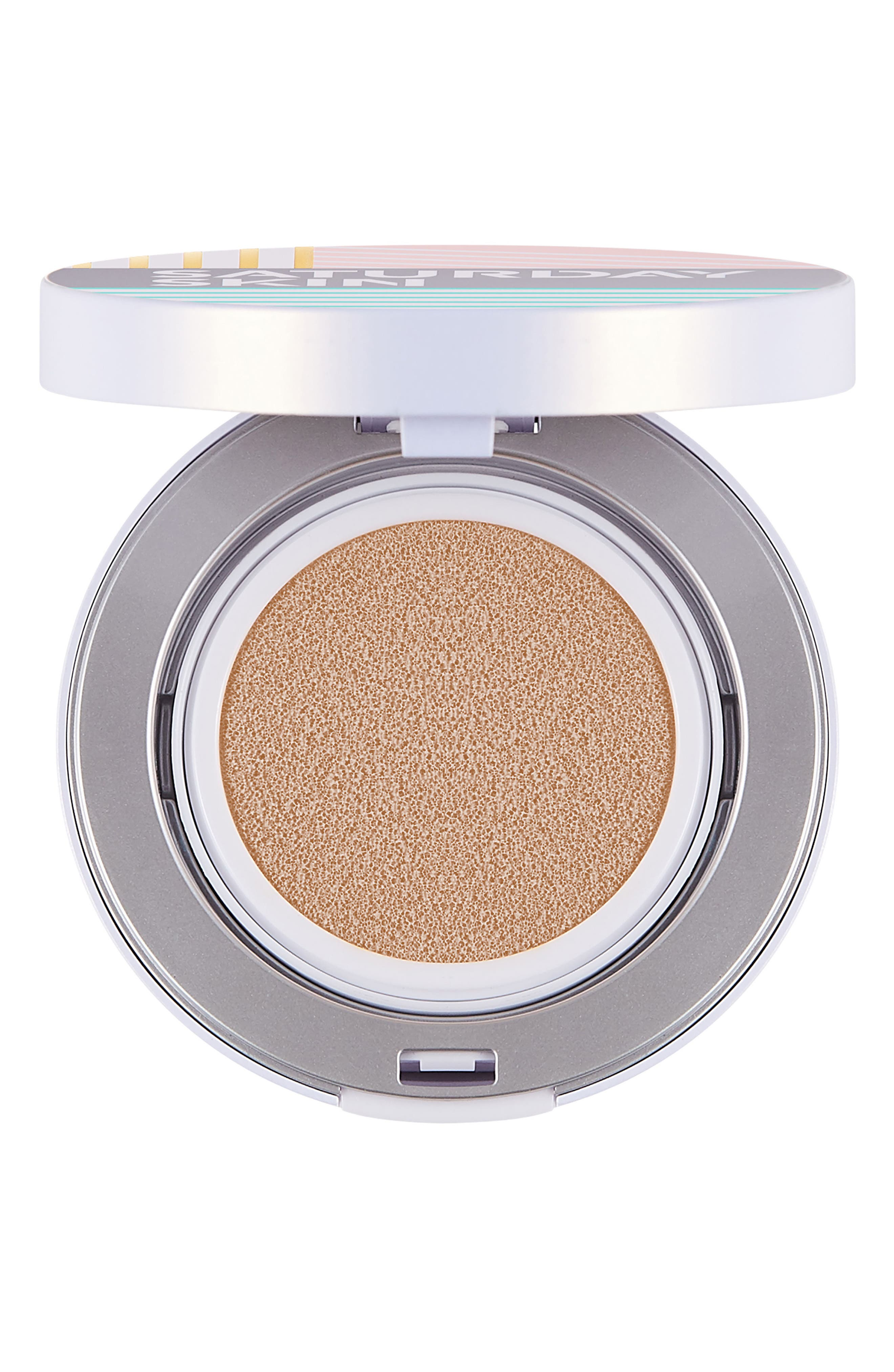 All Aglow Sunscreen Perfection Cushion Compact SPF 50,                             Main thumbnail 1, color,                             02 CHAMPAGNE