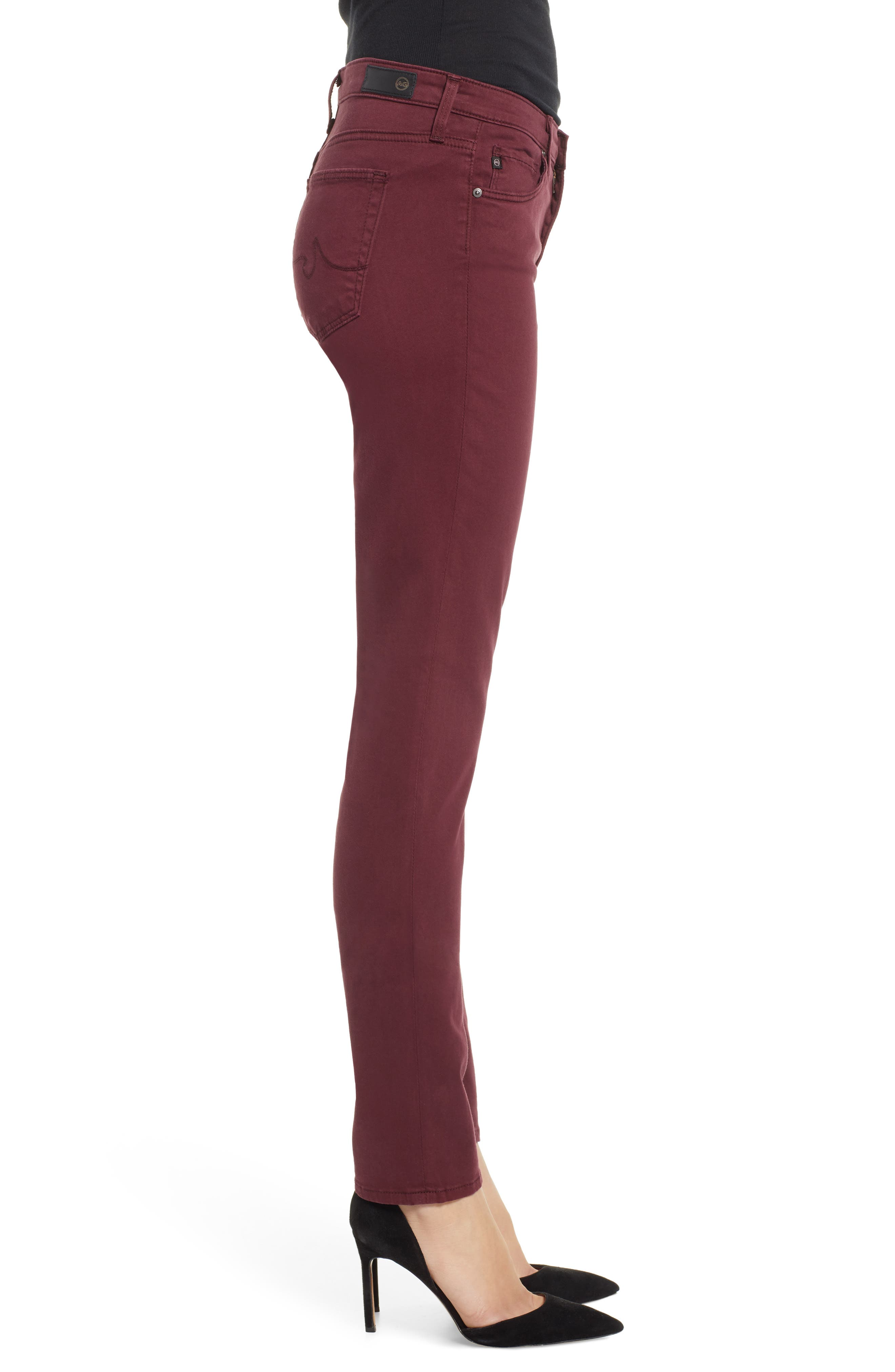 'The Prima' Cigarette Leg Skinny Jeans,                             Alternate thumbnail 76, color,
