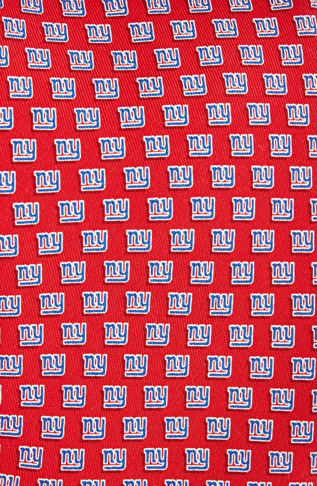 New York Giants Print Tie,                             Alternate thumbnail 2, color,                             RED