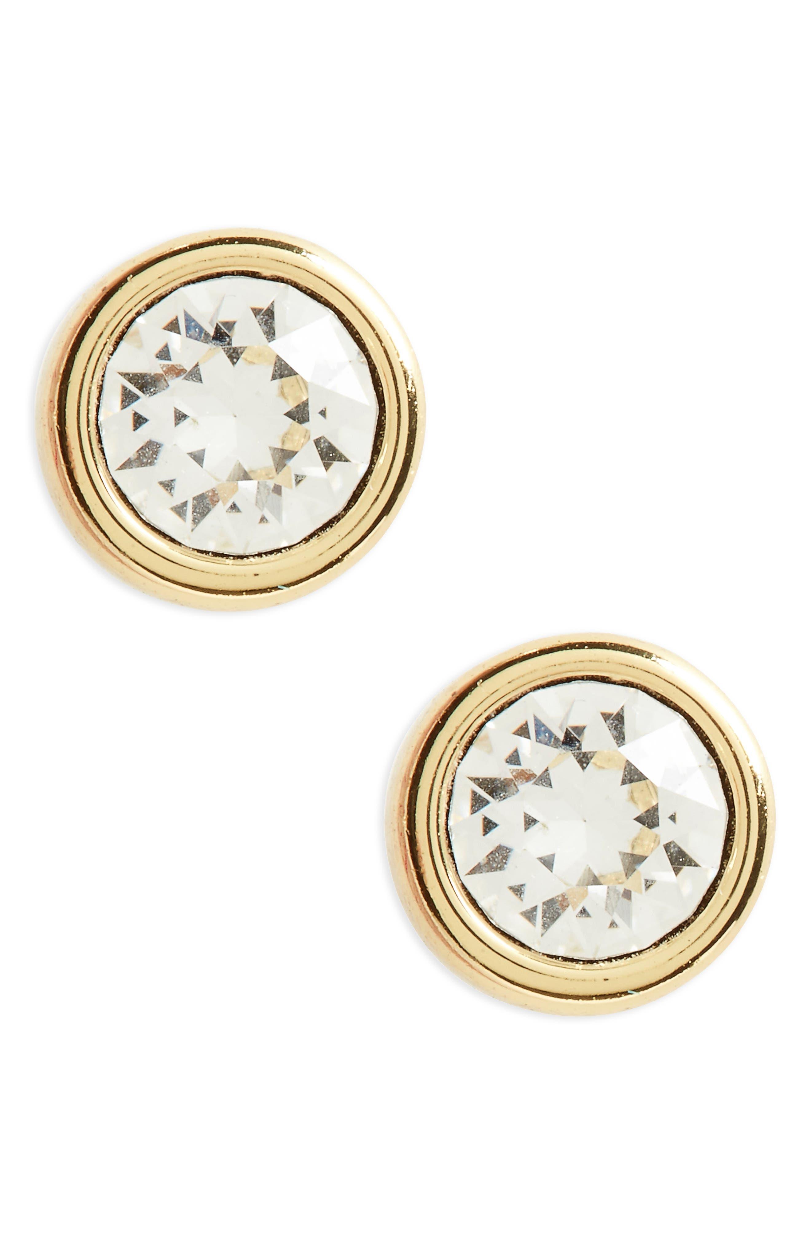 'Sinaa' Crystal Stud Earrings,                             Alternate thumbnail 2, color,                             710
