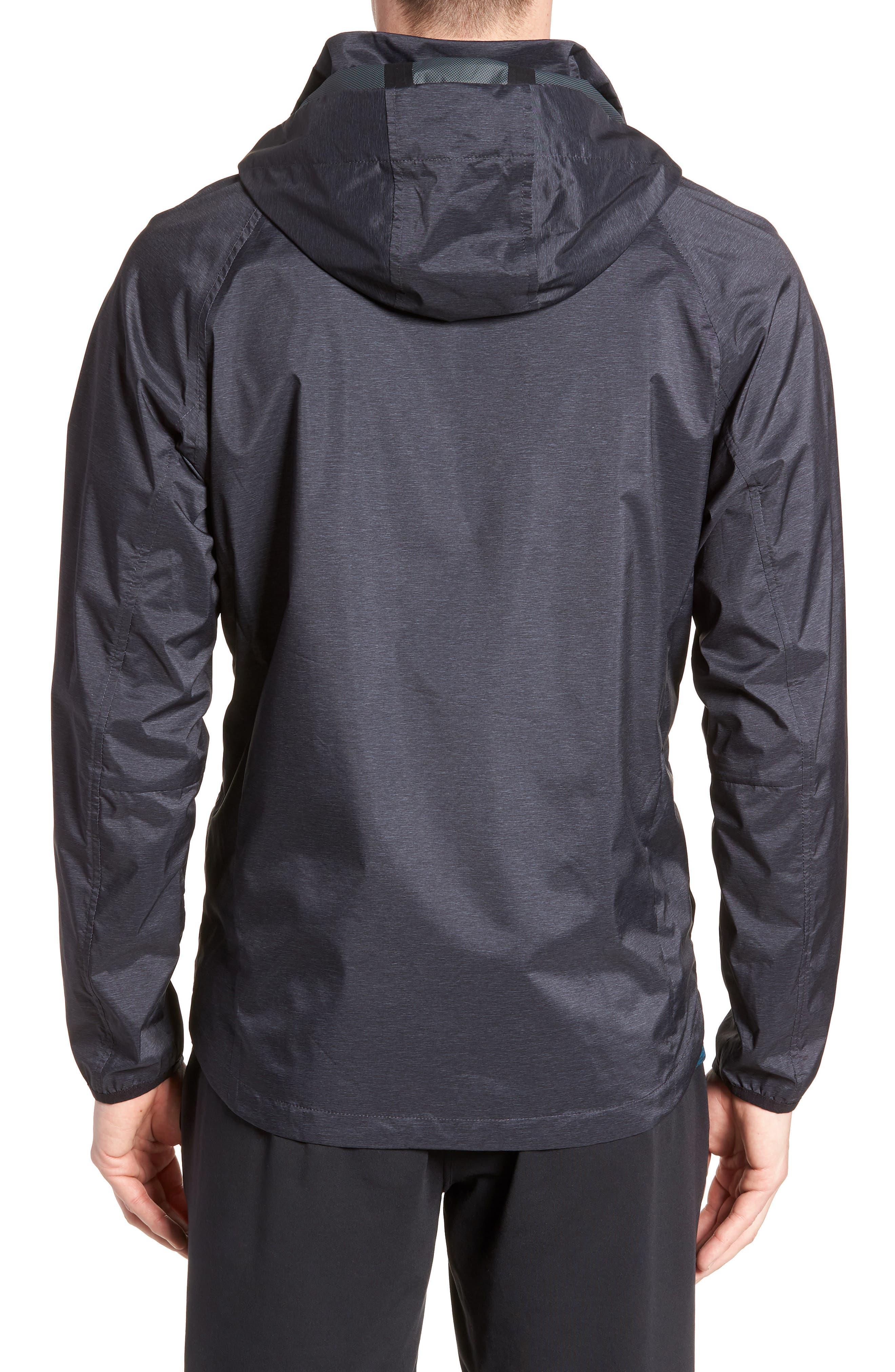 ZELLA,                             Xieite Hooded Jacket,                             Alternate thumbnail 2, color,                             001