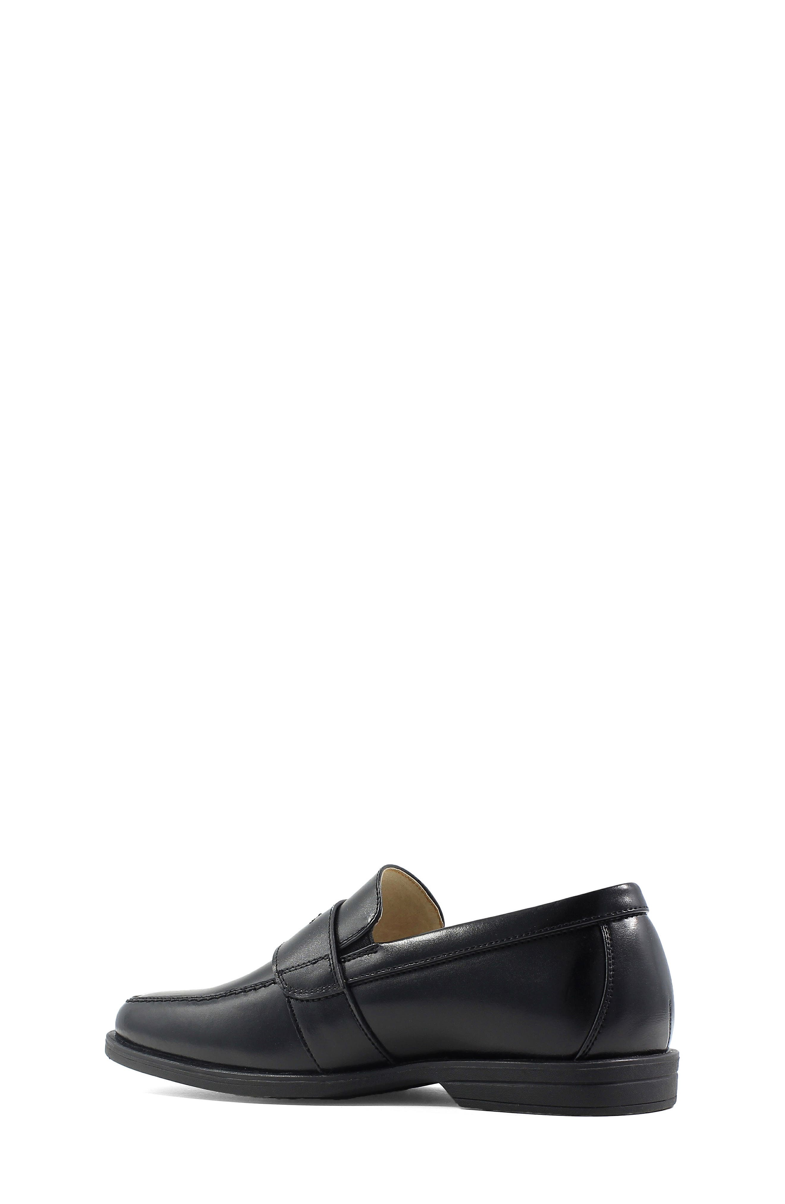 'Reveal' Penny Loafer,                             Alternate thumbnail 2, color,                             BLACK