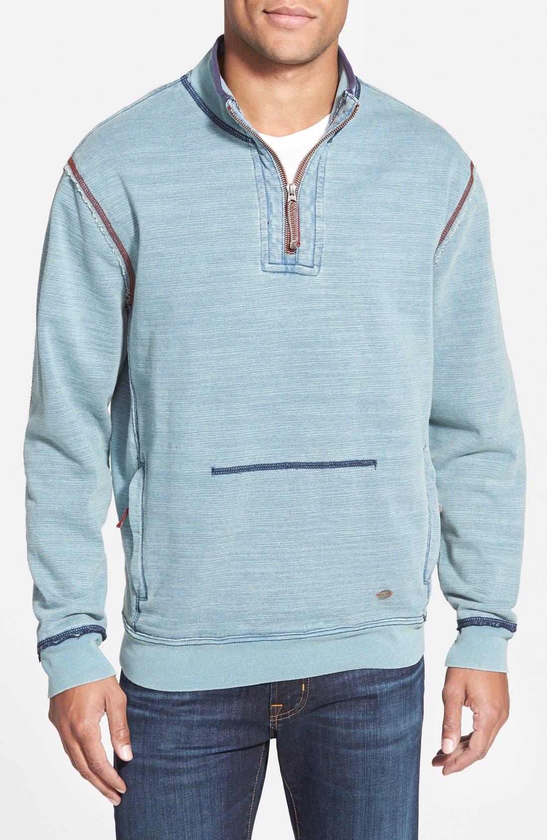 Slub Fleece Pullover, Main, color, 453