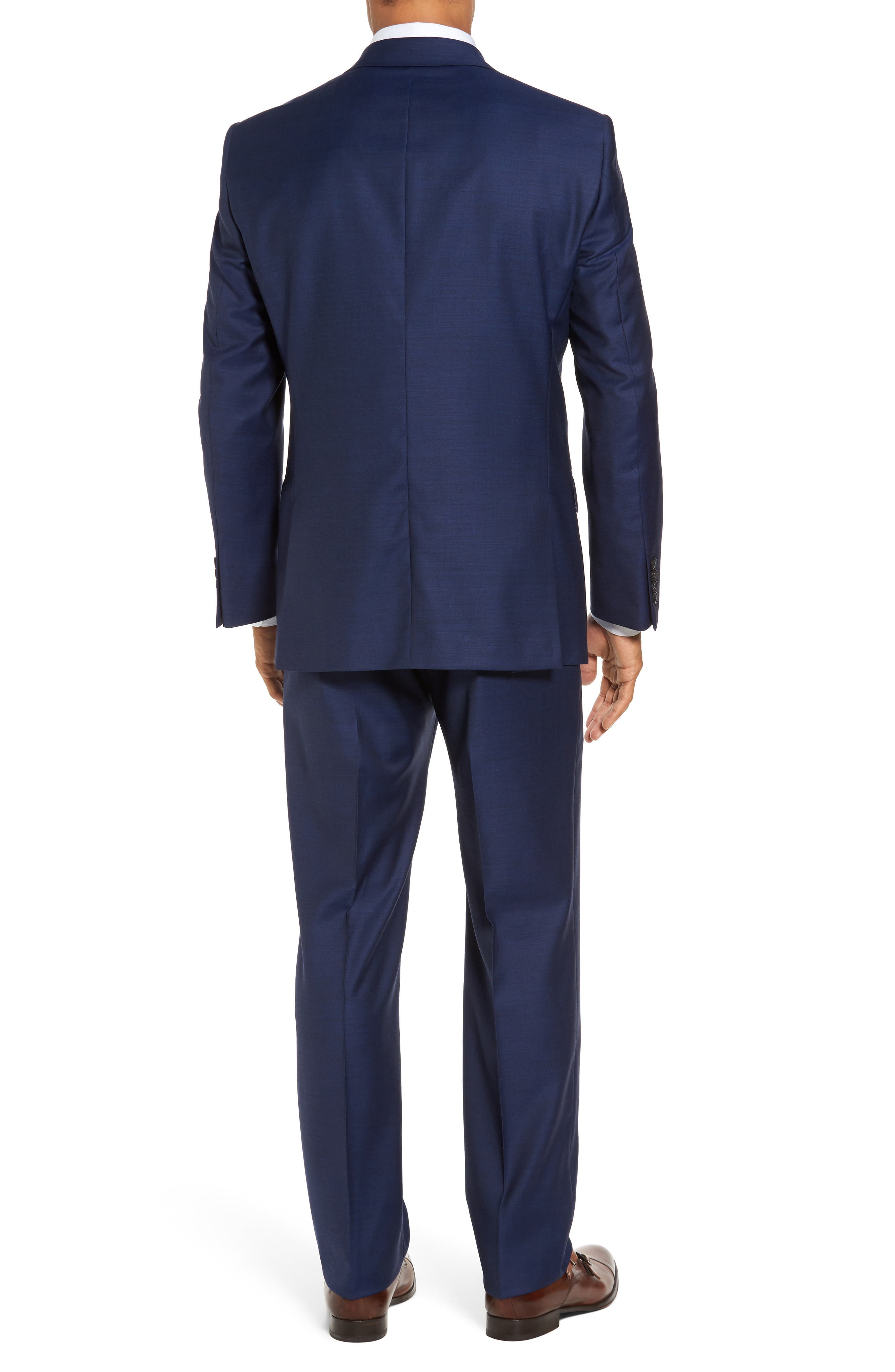 Classic Fit Solid Wool Suit,                             Alternate thumbnail 2, color,                             401