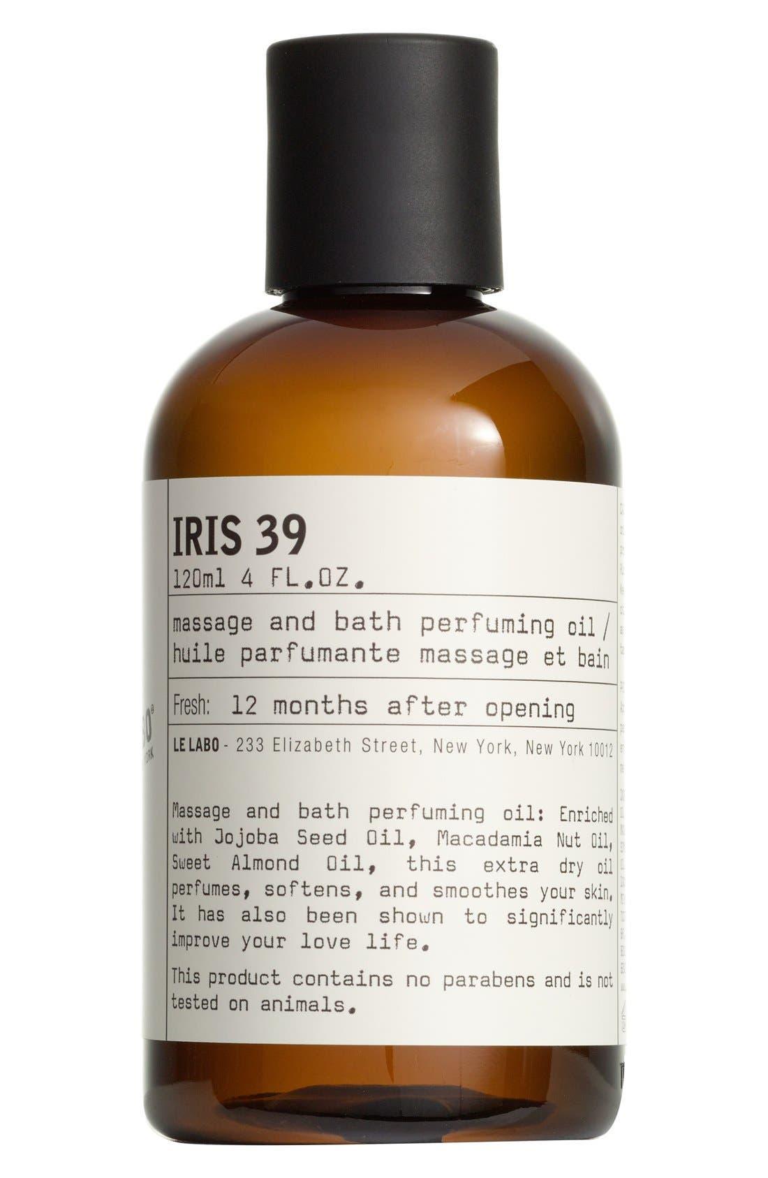 'Iris 39' Body Oil,                             Main thumbnail 1, color,                             NO COLOR