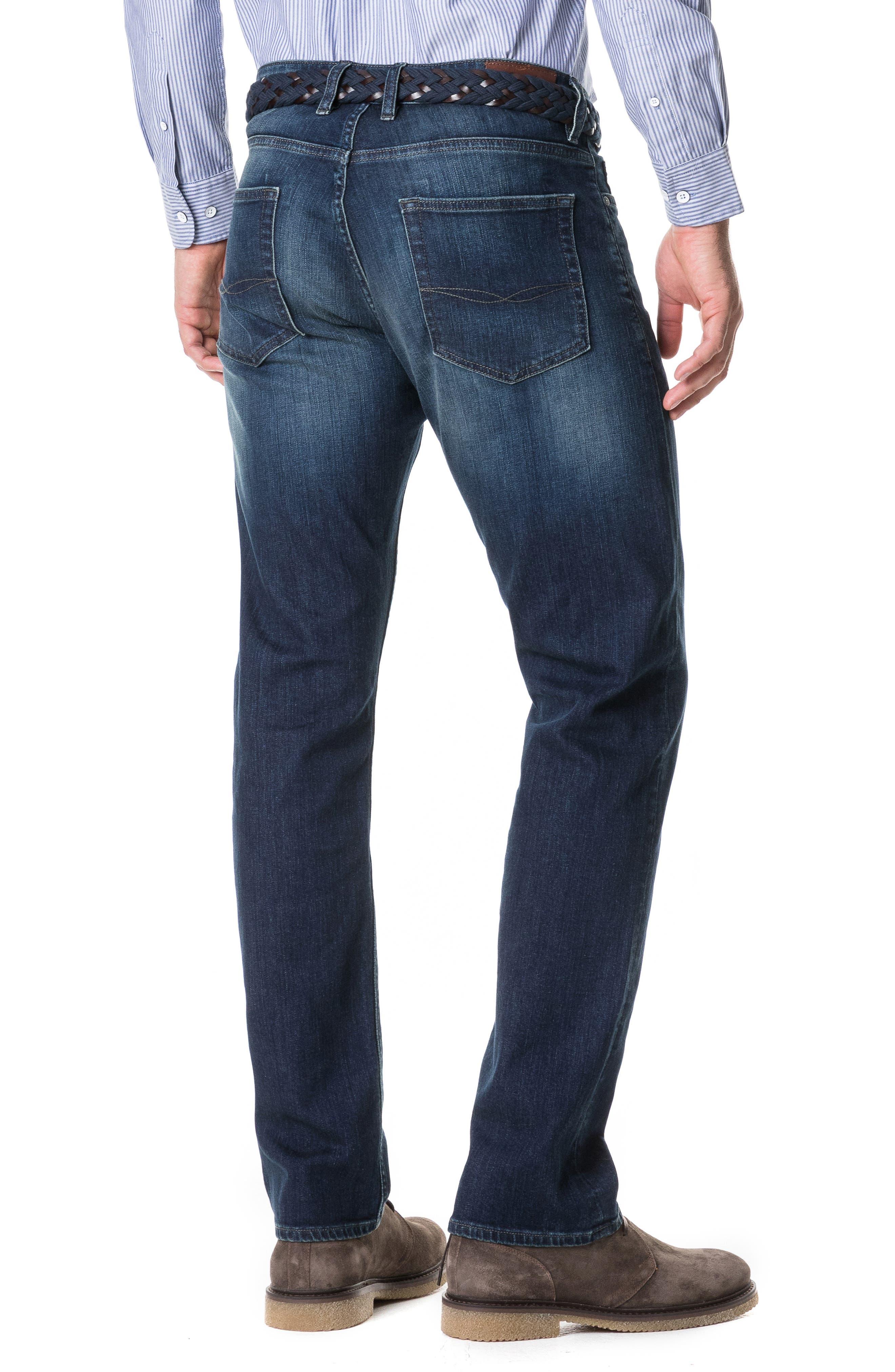 Barton Straight Leg Jeans,                             Alternate thumbnail 2, color,                             DENIM