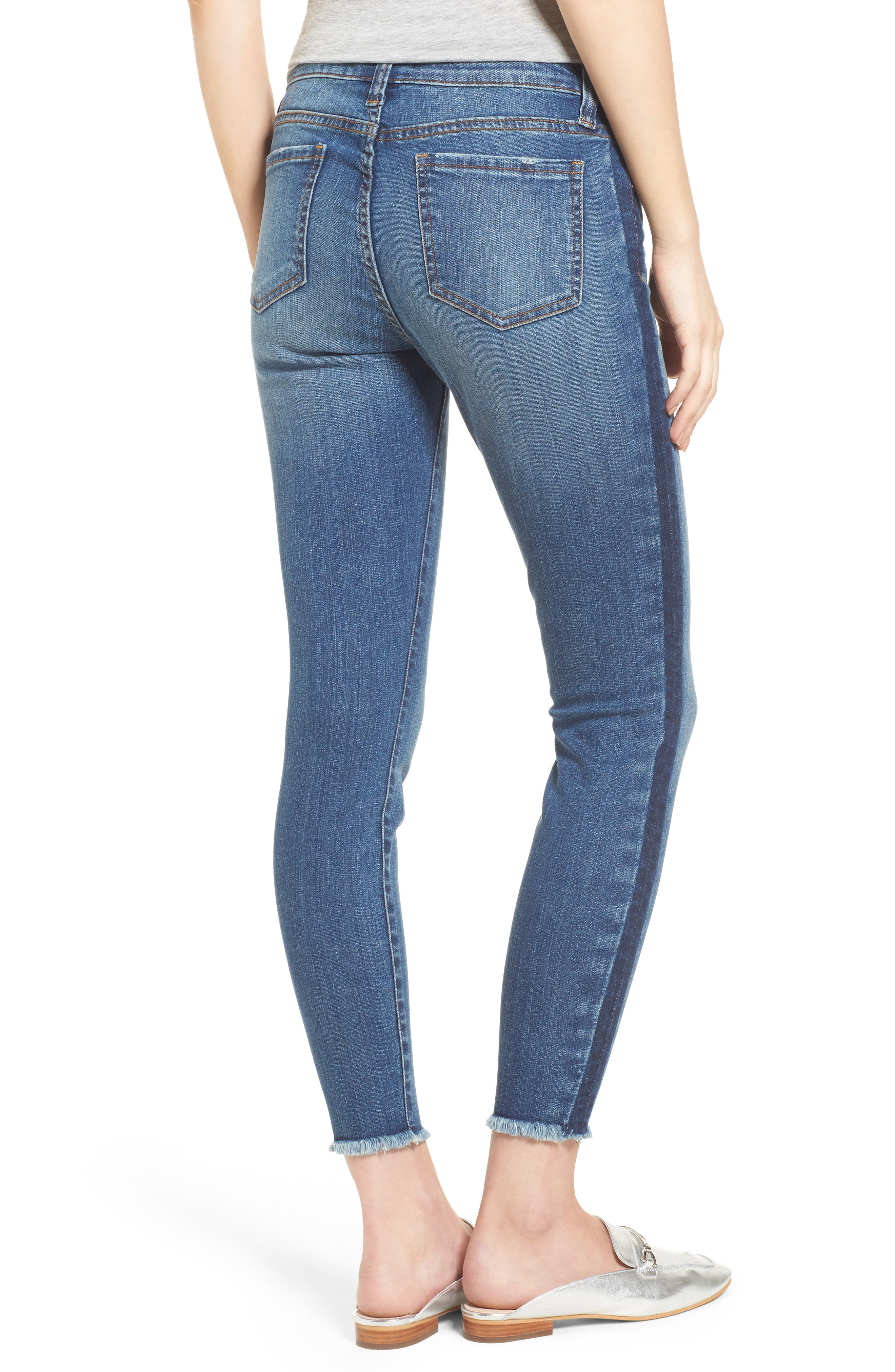 Connie Ankle Skinny Jeans,                             Alternate thumbnail 2, color,                             459