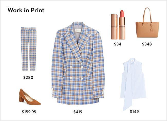 Work in print: women's work clothing, accessories, shoes and more.