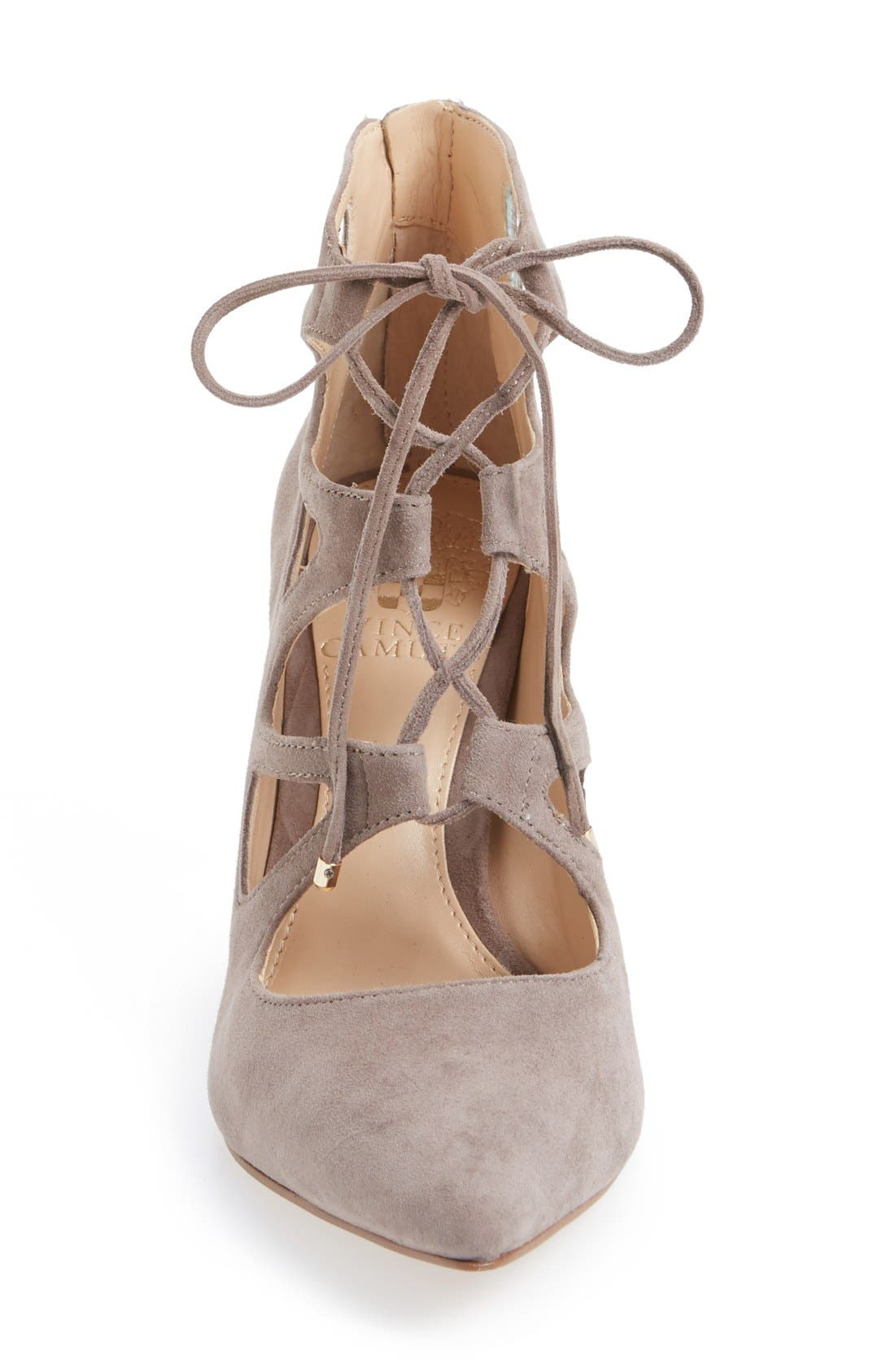 'Bodell' Lace Up Pump,                             Alternate thumbnail 18, color,