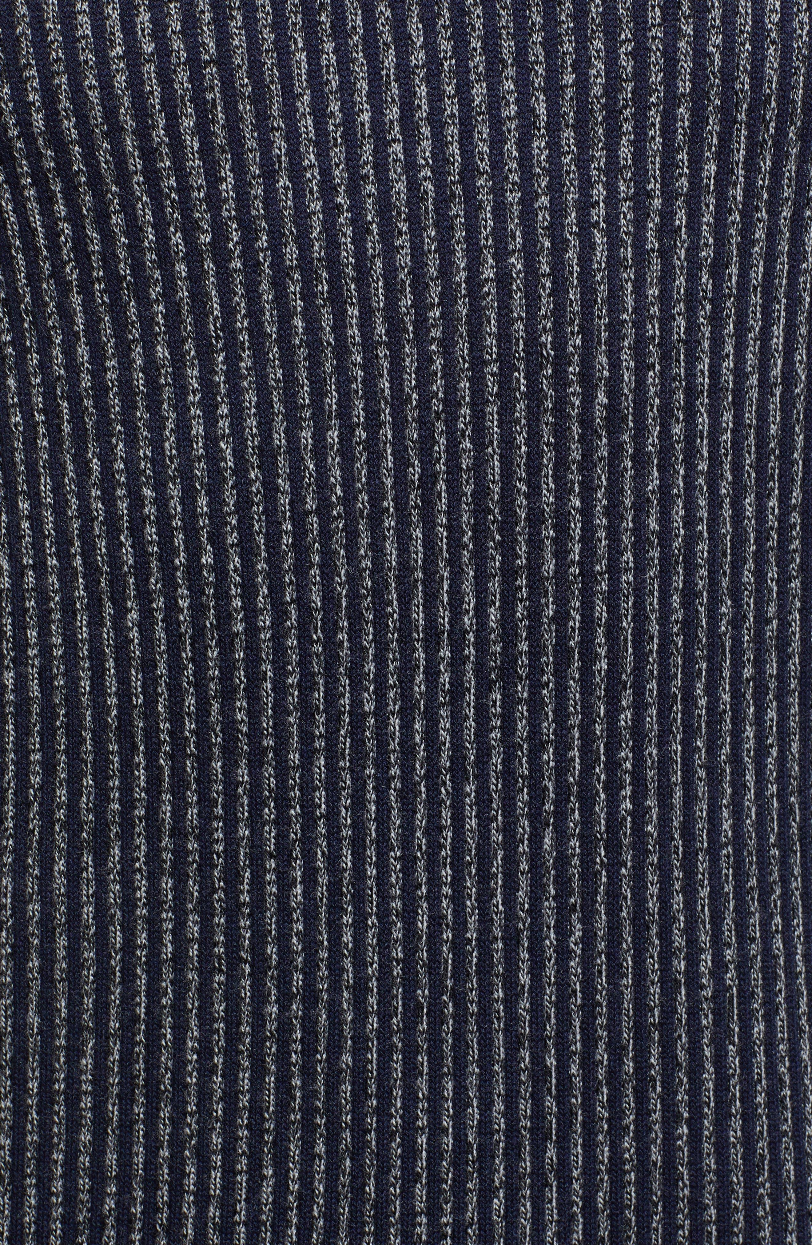 Jinxitt Crewneck Sweater,                             Alternate thumbnail 5, color,                             NAVY