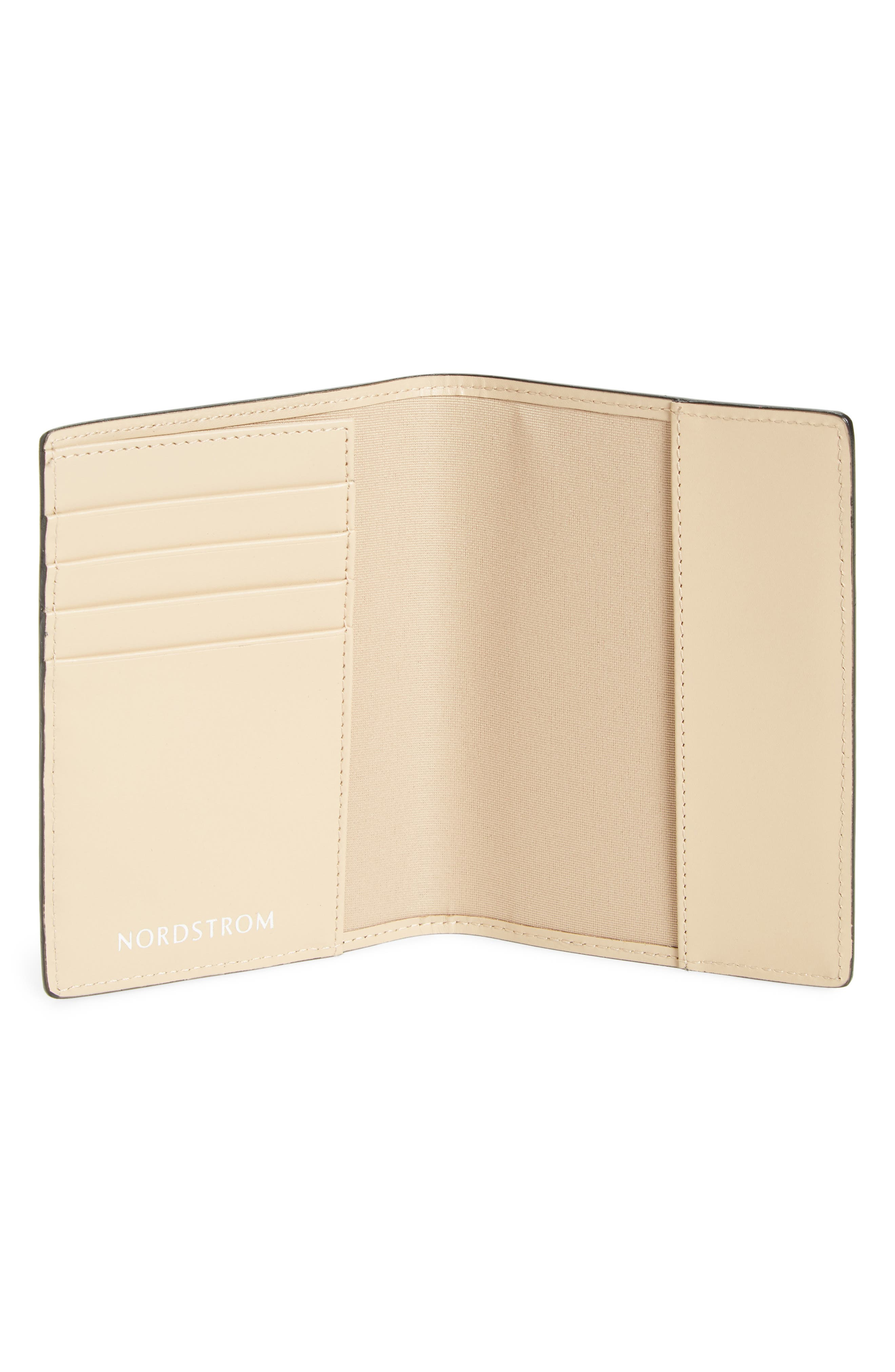Leather Passport Case,                             Alternate thumbnail 10, color,