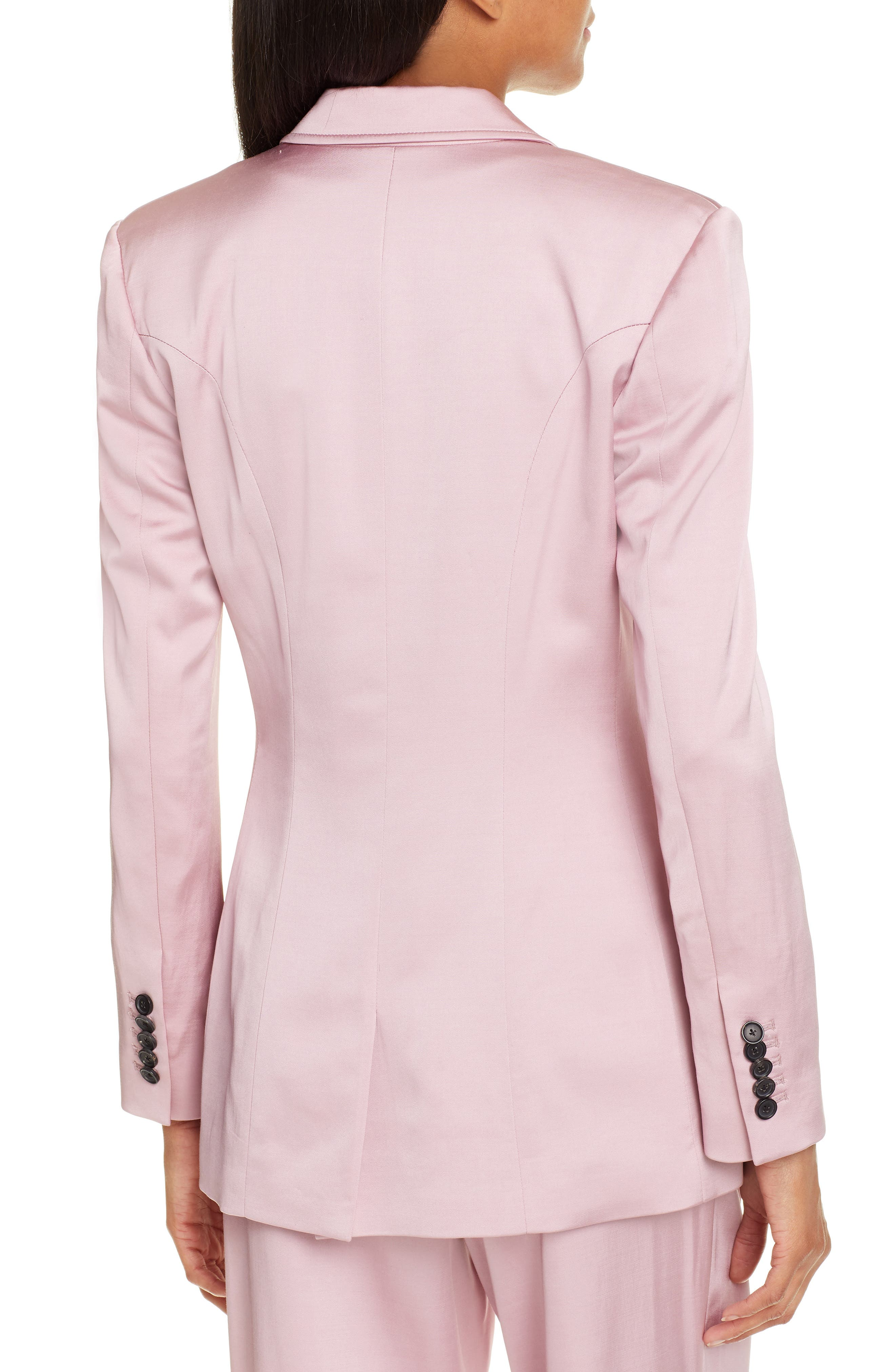 A.L.C.,                             Sedgewick Double Breasted Suiting Jacket,                             Alternate thumbnail 2, color,                             DUSTY ROSE