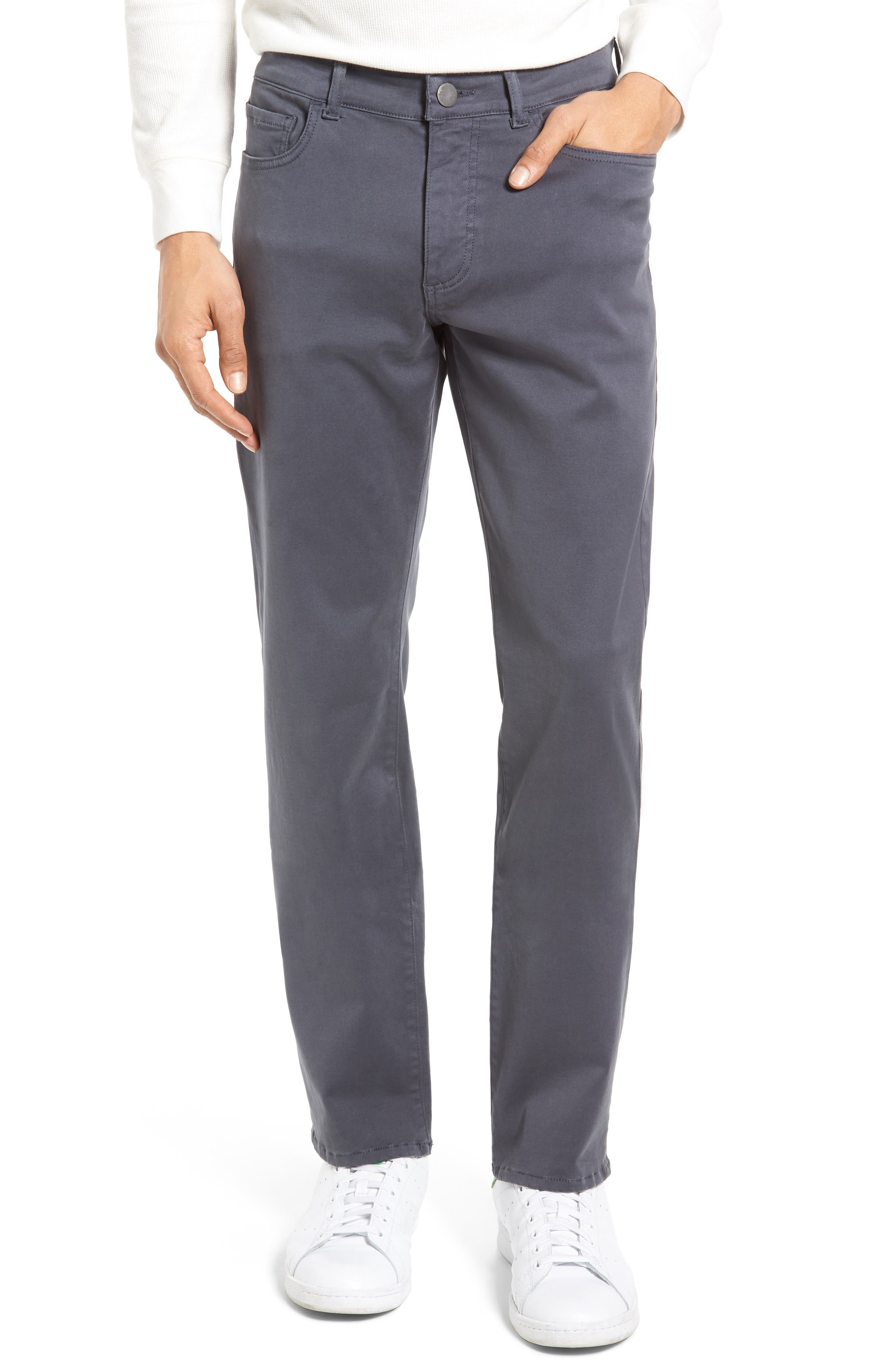 Russell Slim Fit Sateen Twill Pants,                             Main thumbnail 8, color,