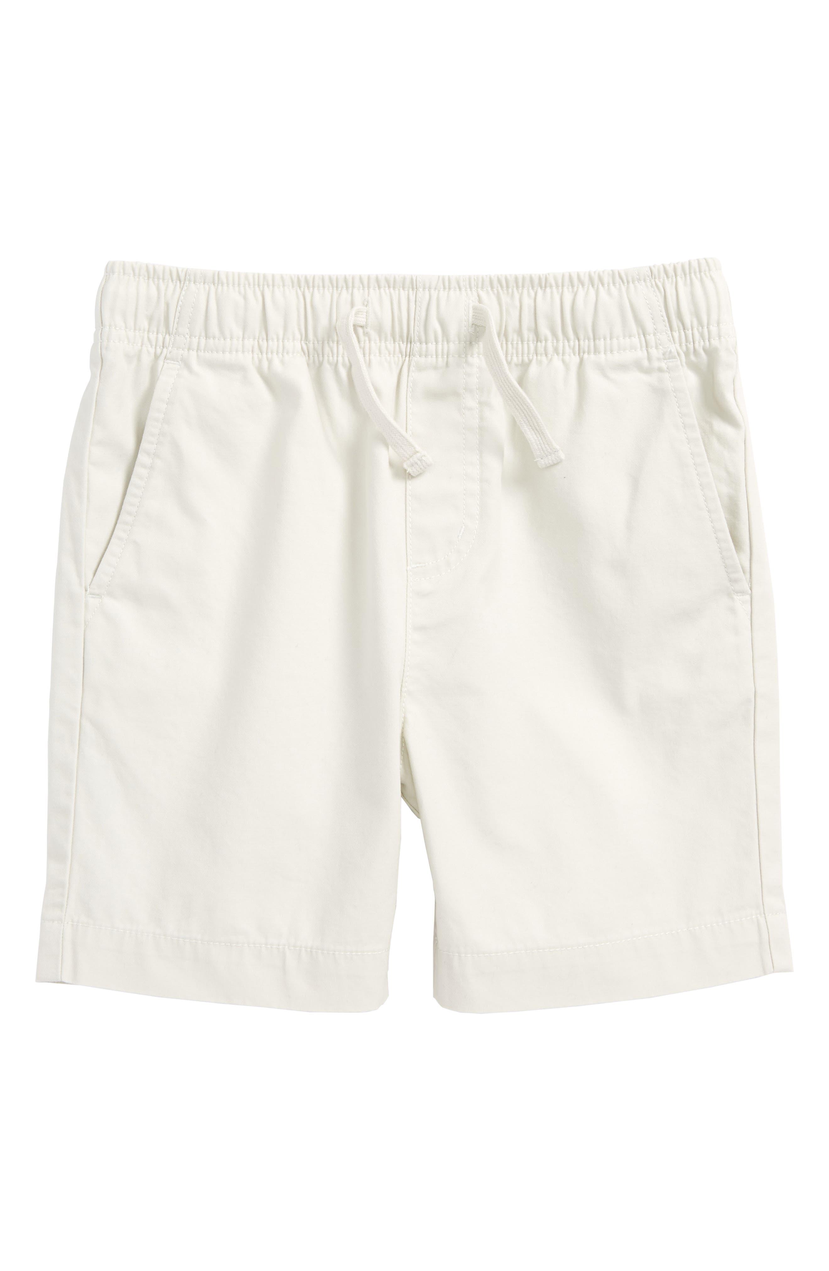 Elastic Waist Shorts,                             Main thumbnail 1, color,