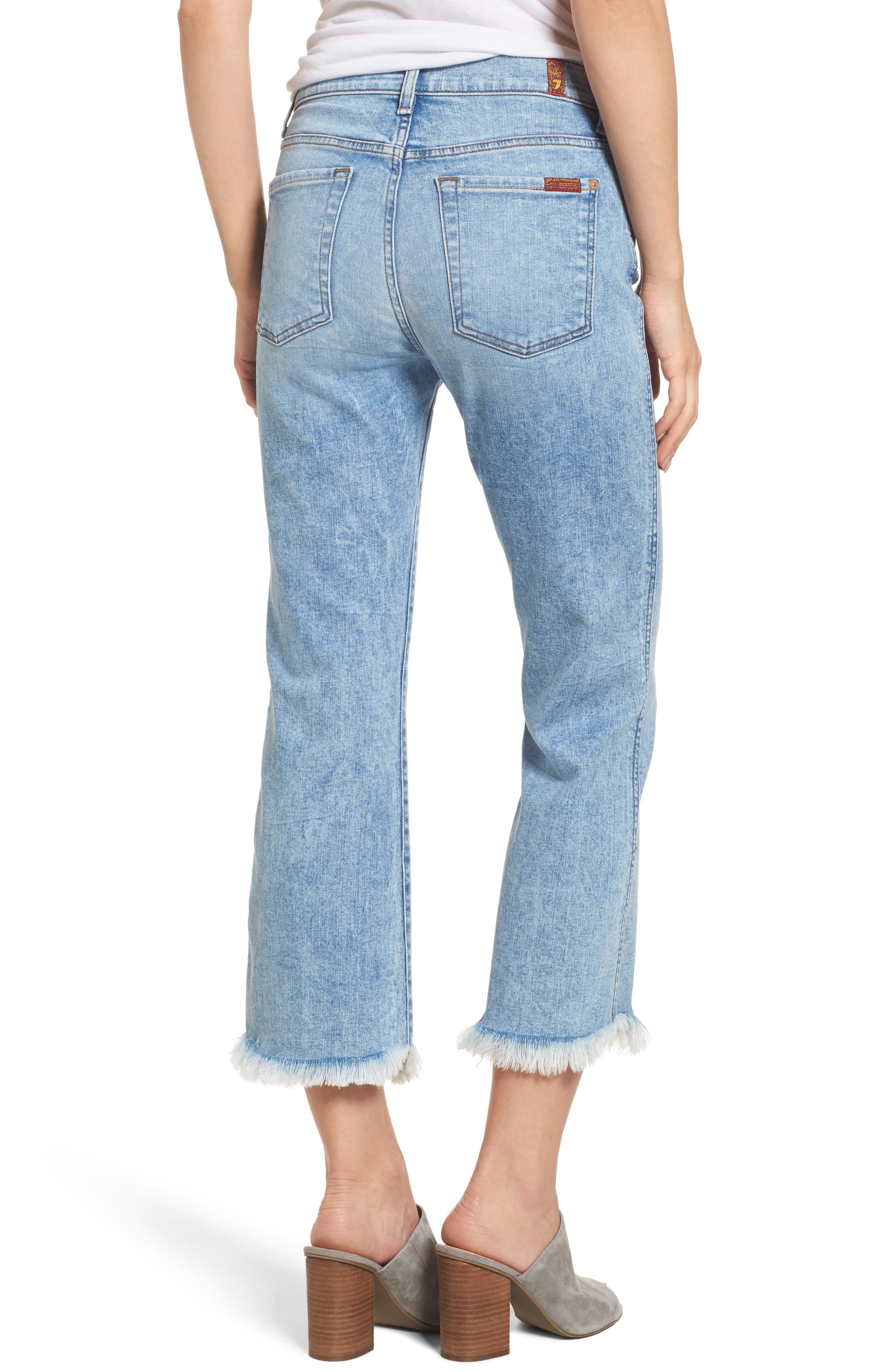 Ali High Waist Crop Flare Leg Jeans,                             Alternate thumbnail 2, color,                             RADIANT WYTHE