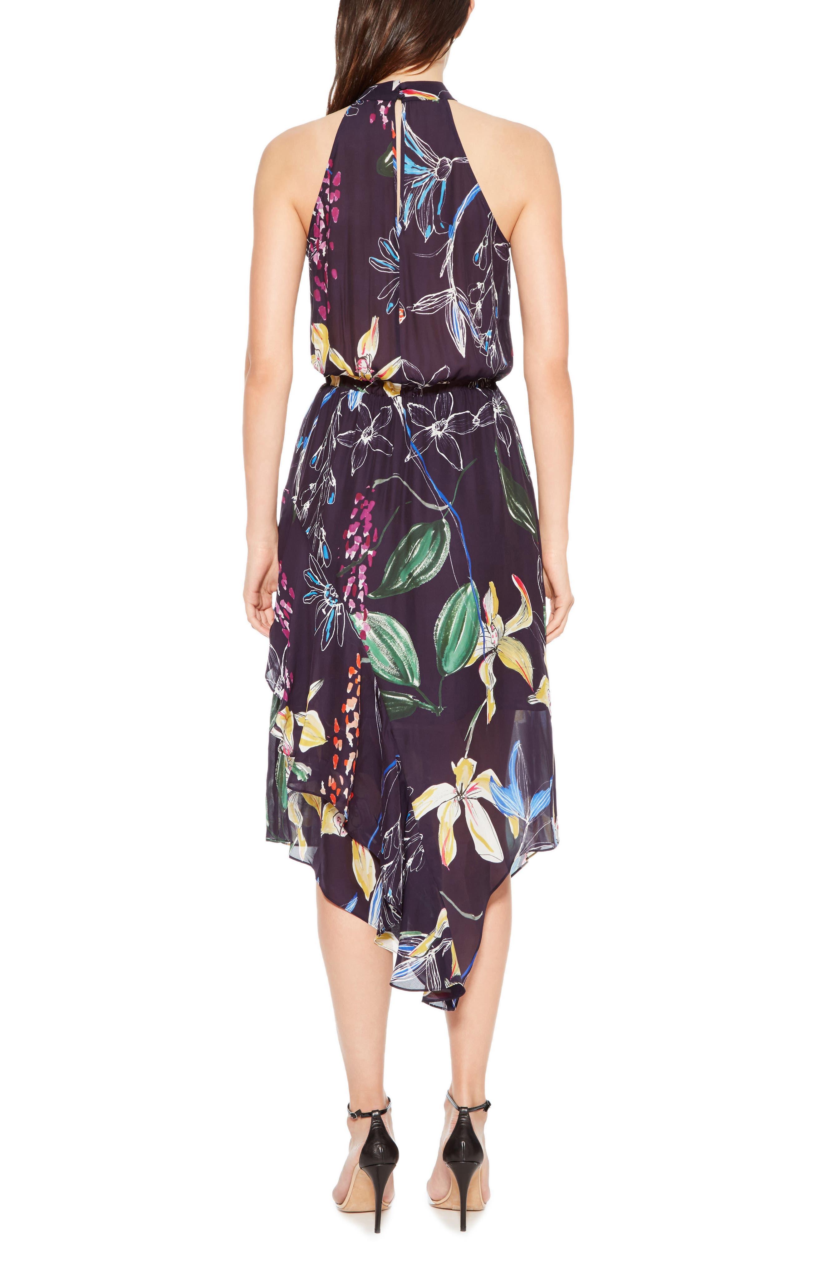 Julieta Tiered Dress,                             Alternate thumbnail 2, color,                             COSMIC FLEUR