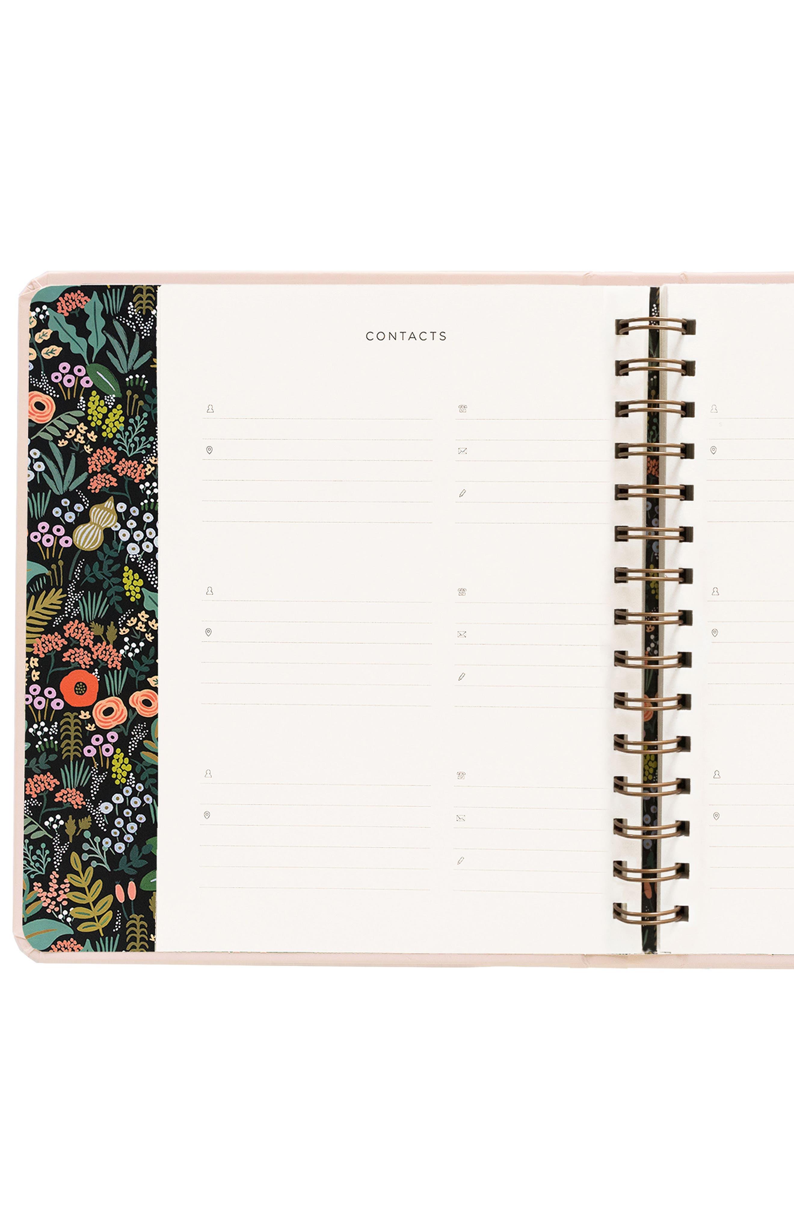 2019 Bouquet 17-Month Planner,                             Alternate thumbnail 8, color,                             PINK