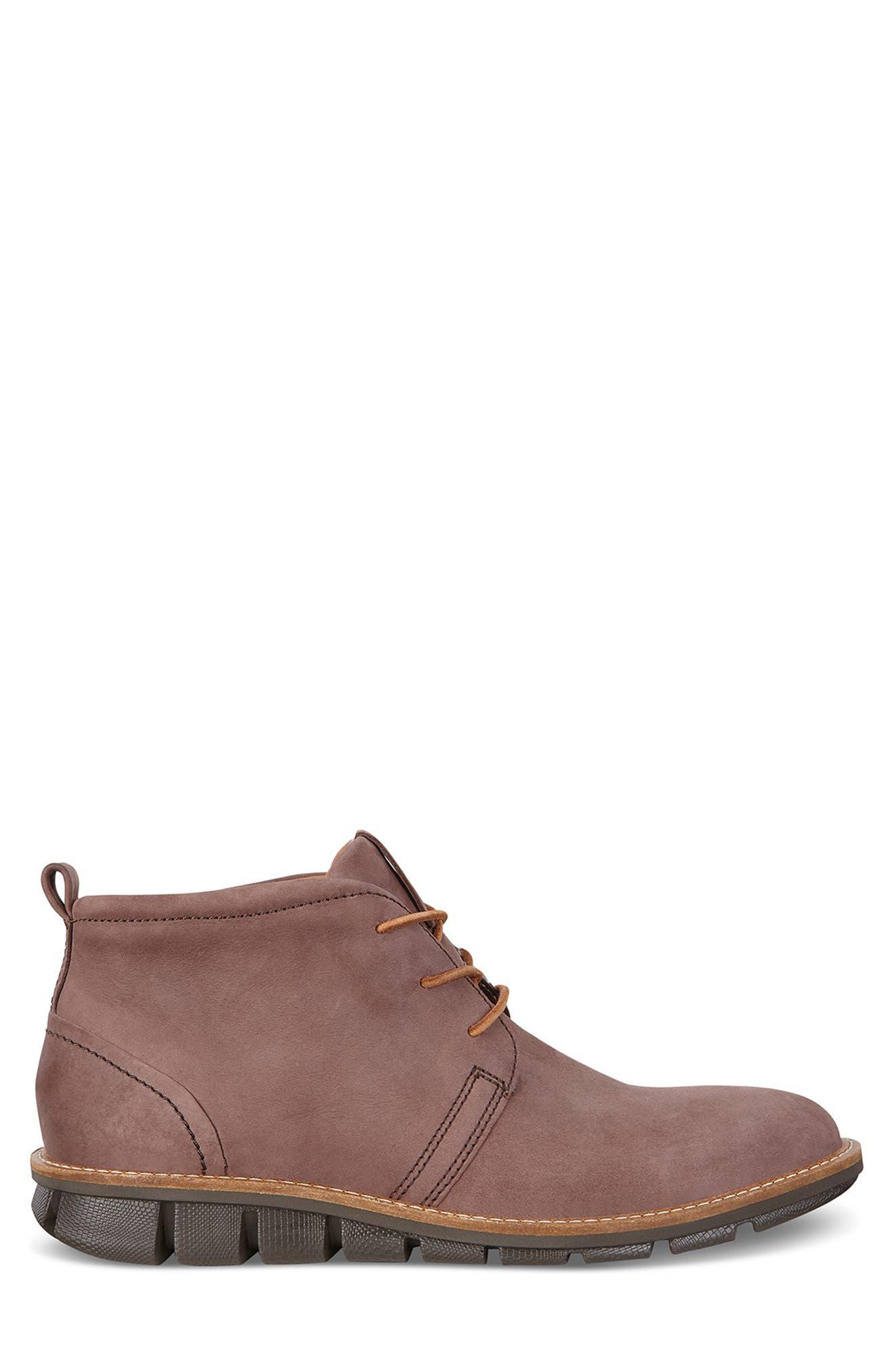 'Jeremy Hybrid' Plain Toe Boot,                             Alternate thumbnail 2, color,                             COFFEE LEATHER