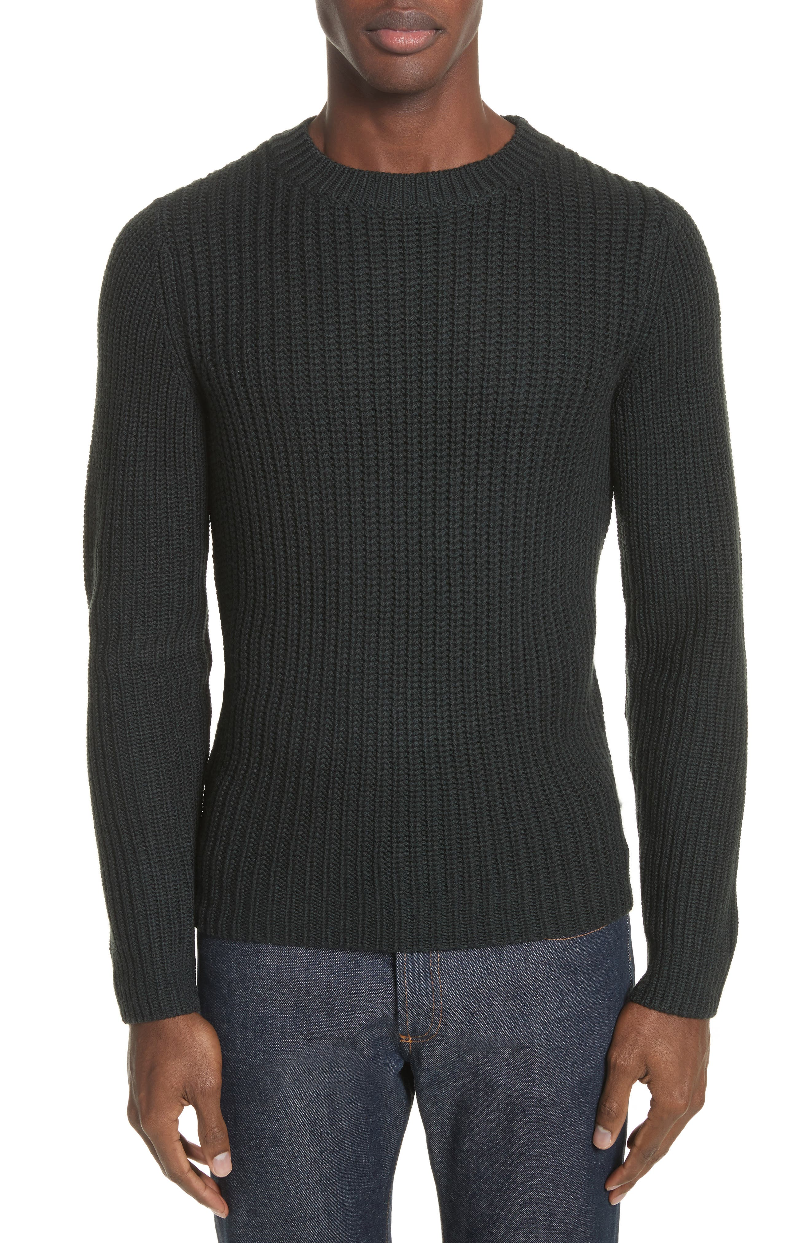 Pull Berger Merino Wool Sweater,                             Main thumbnail 1, color,                             300