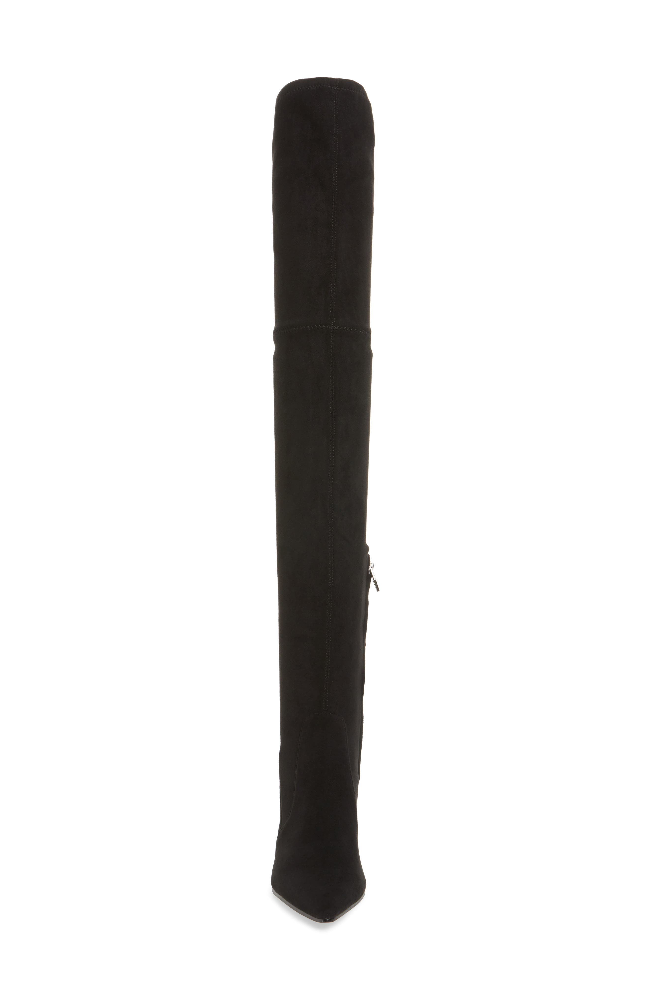 Emmy Over the Knee Boot,                             Alternate thumbnail 4, color,                             001