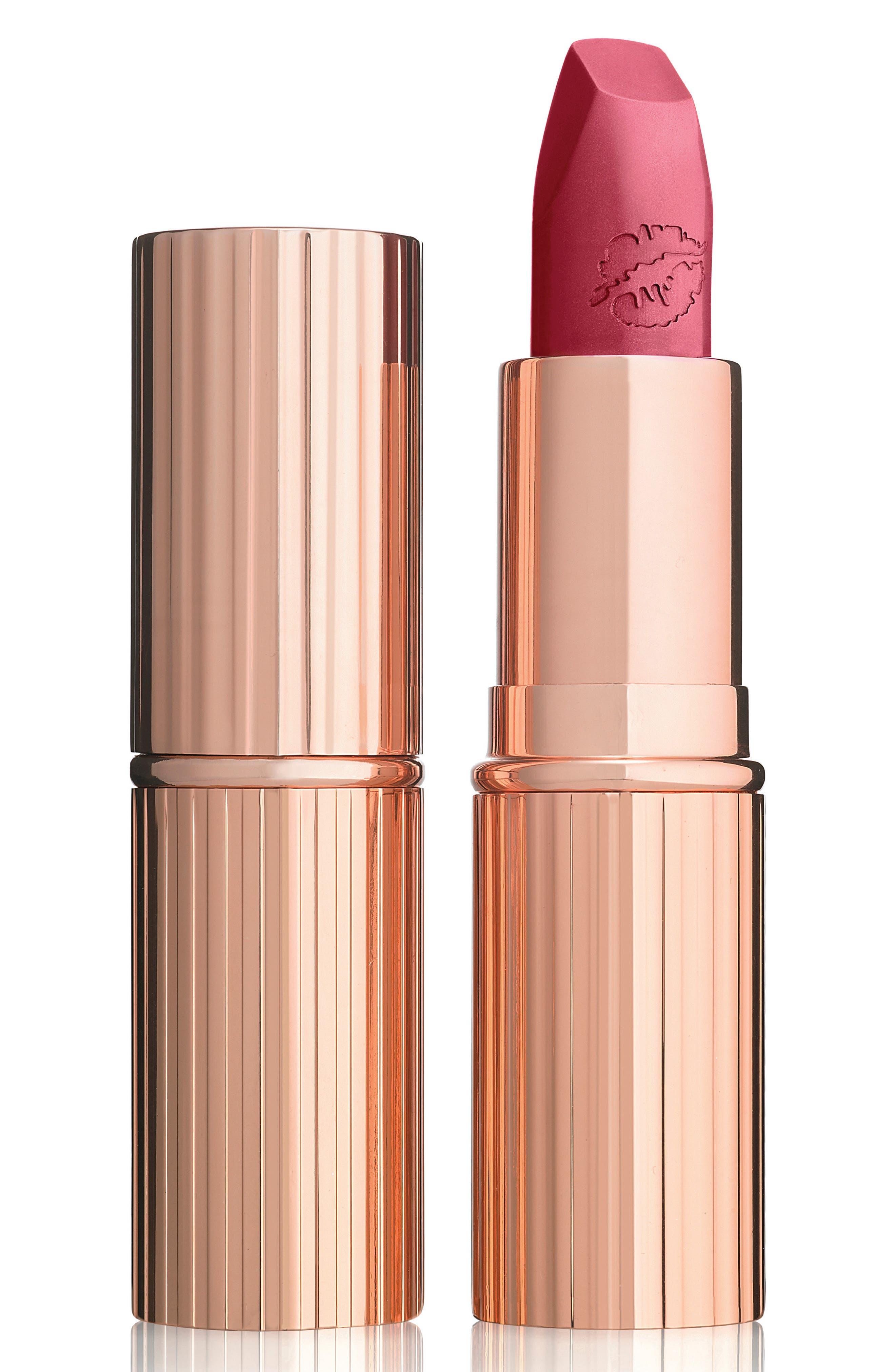 Hot Lips Lipstick,                             Main thumbnail 1, color,                             SECRET SALMA
