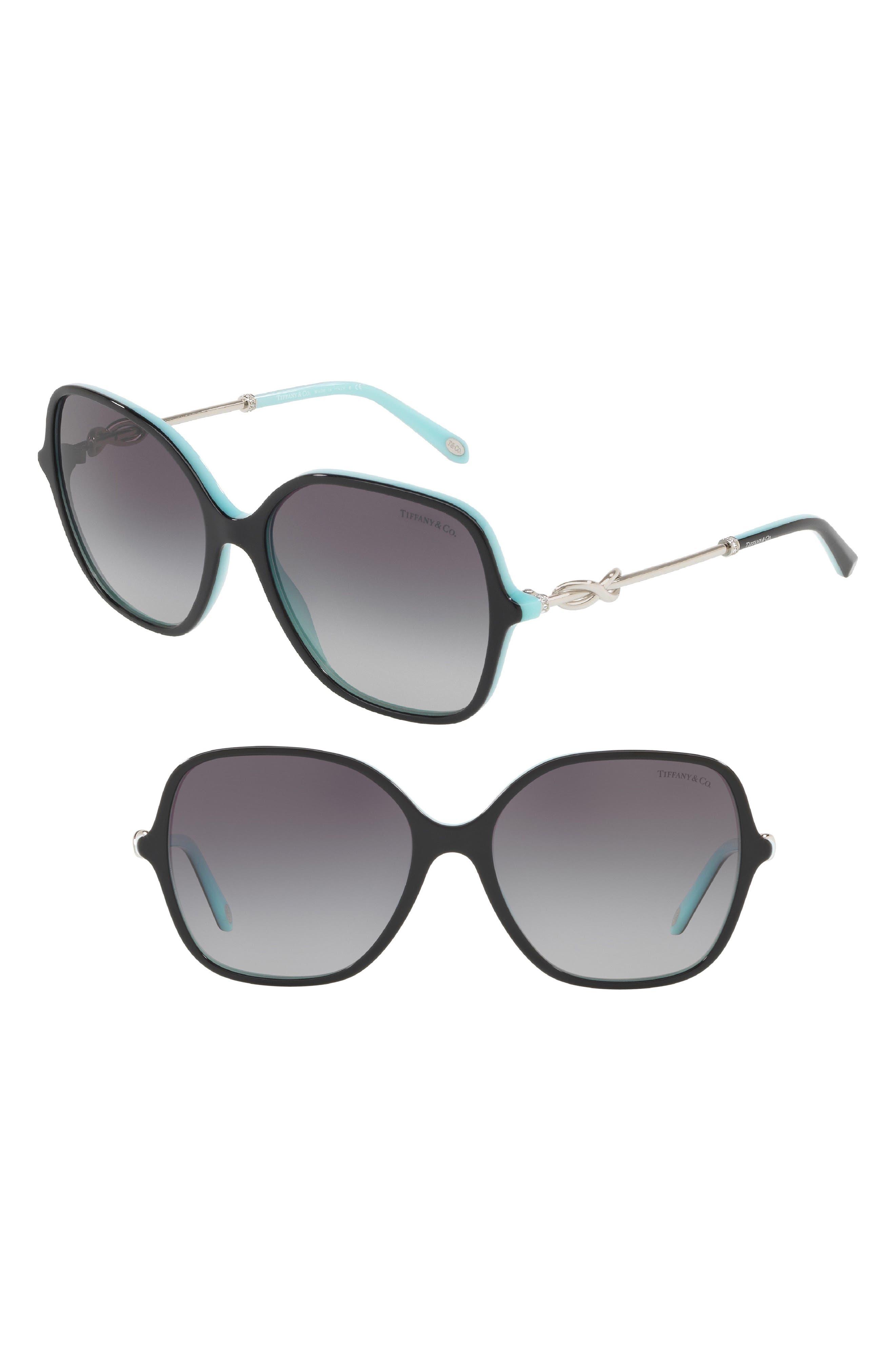 922fa3be0a2 Women s Tiffany 57Mm Sunglasses - Black  Blue Gradient